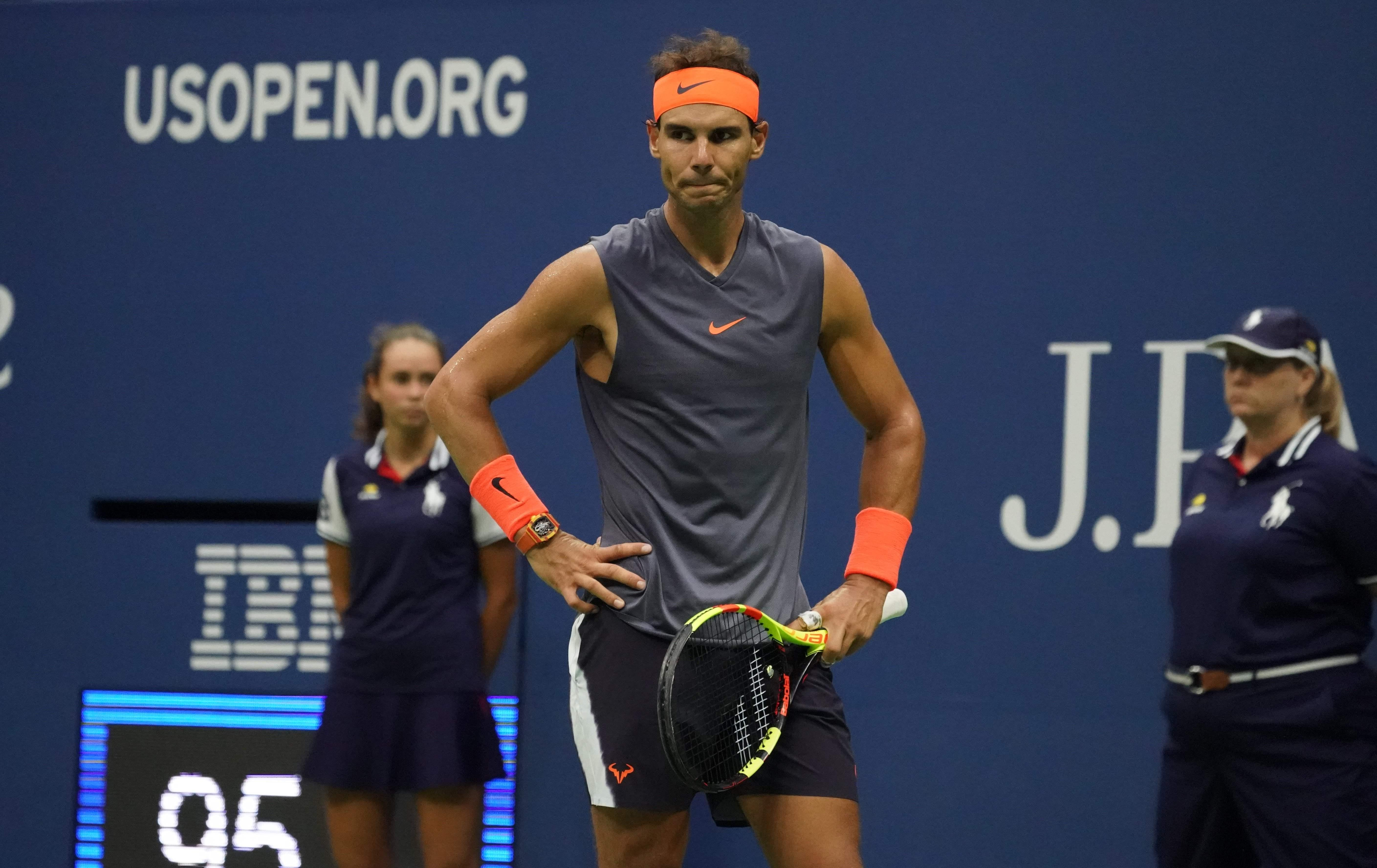 Rafael Nadal is OUT of the US Open after retiring from his semi-final