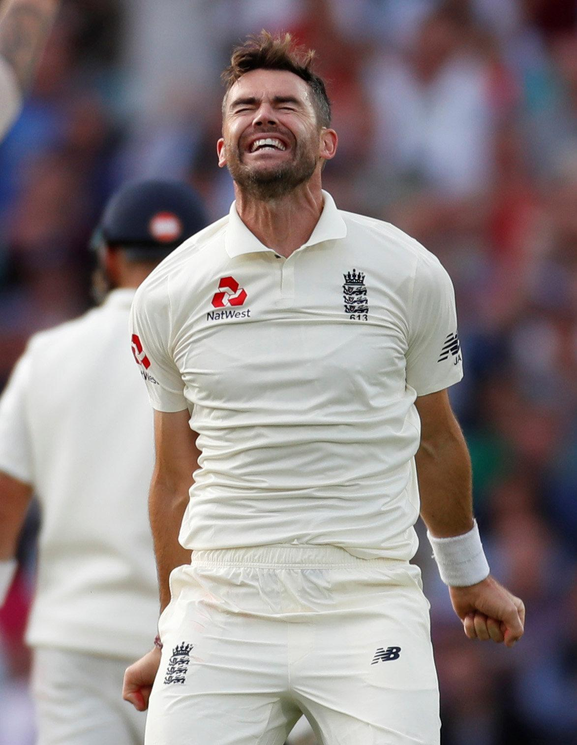 James Anderson closes in on Glenn McGrath to give England the edge over India.