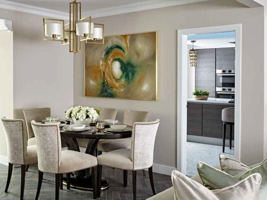 High-end design company Address Interiors carried out the amazing work
