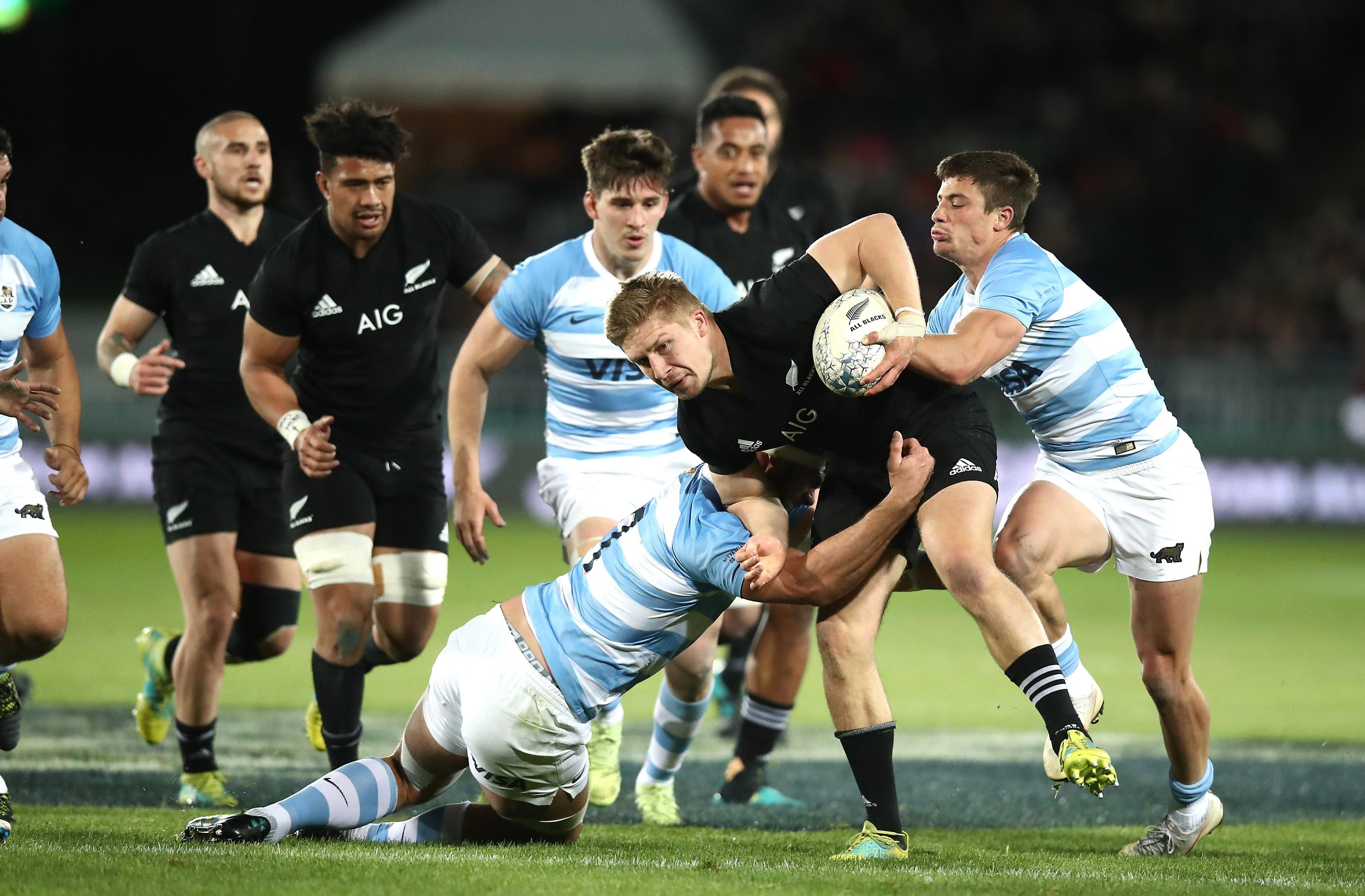 New Zealand are looking to complete the double over Argentina in the Rugby Championship