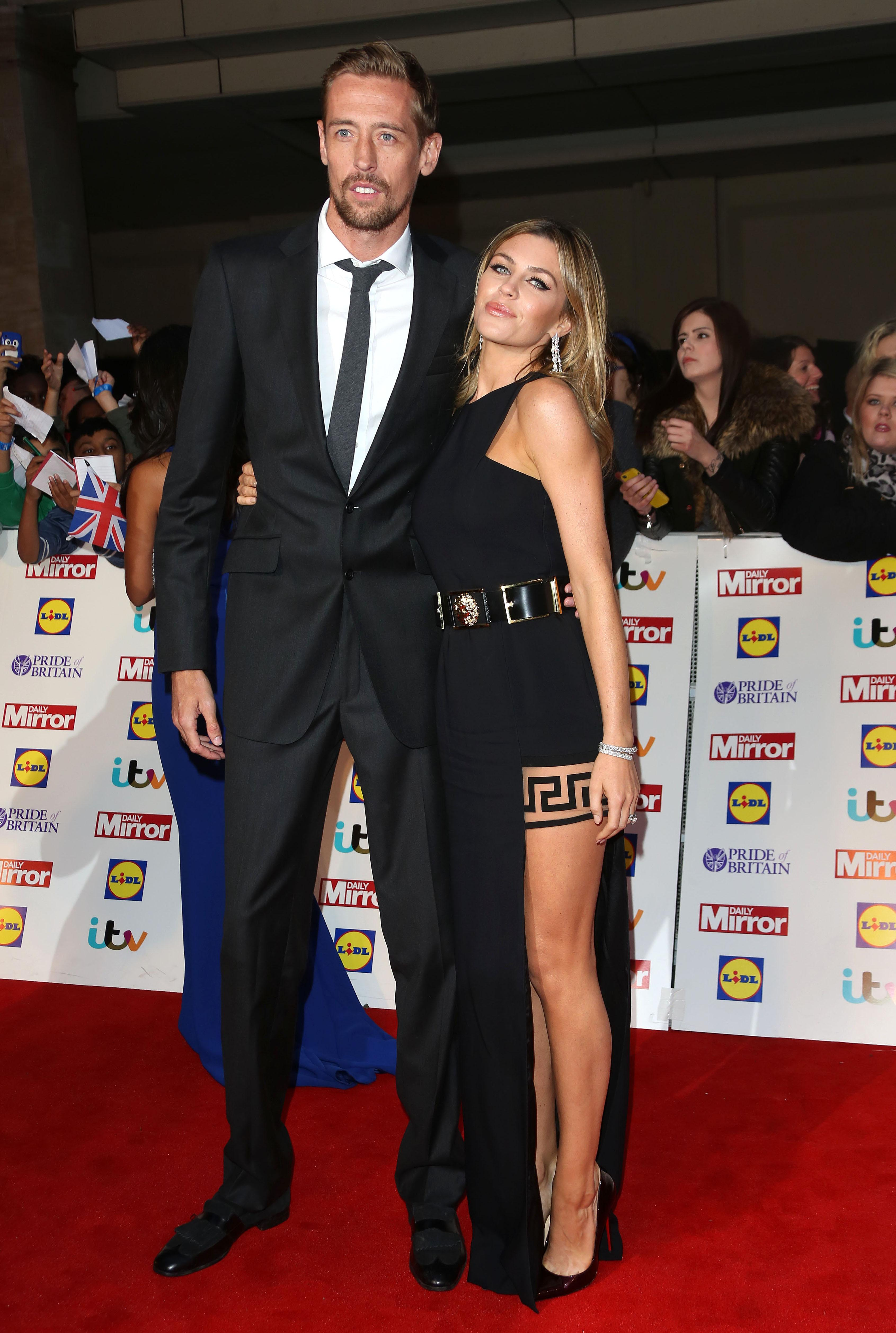 Father-of-three Crouch is married to model Abbey Clancy