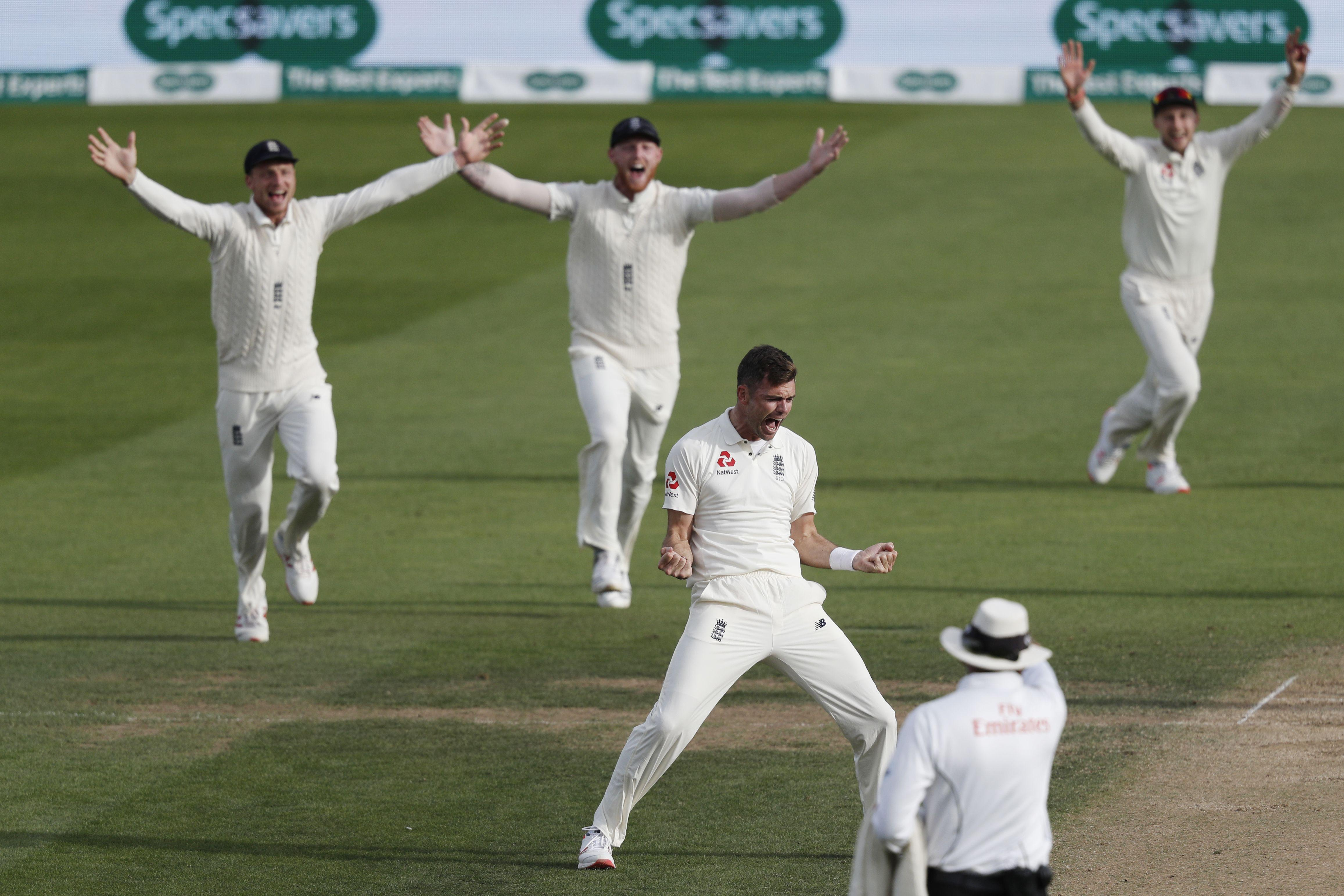 Anderson took two wickets on Day Four against India at the Oval to move on to 563 Test wickets