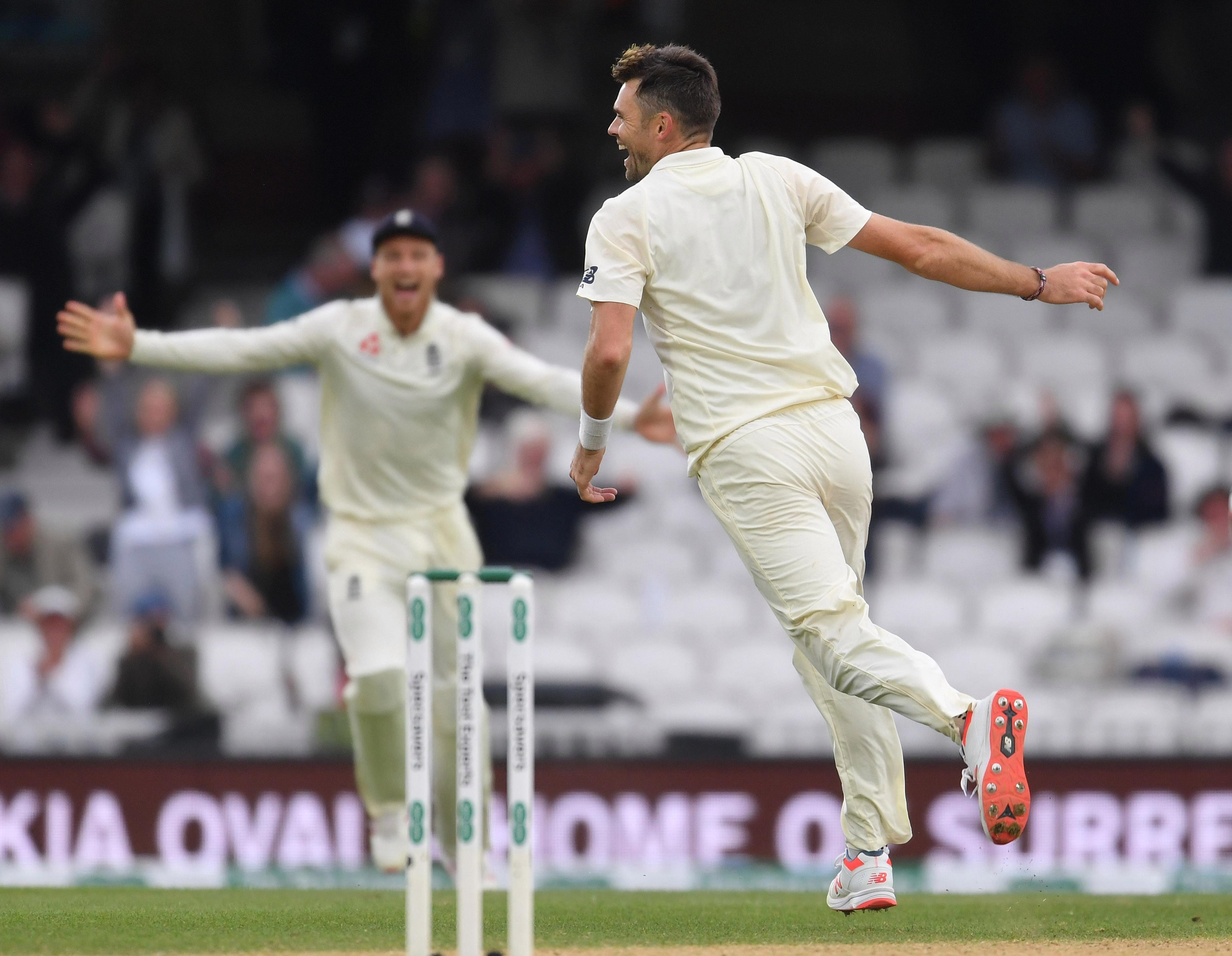 Jimmy Anderson made history as England won the series against India