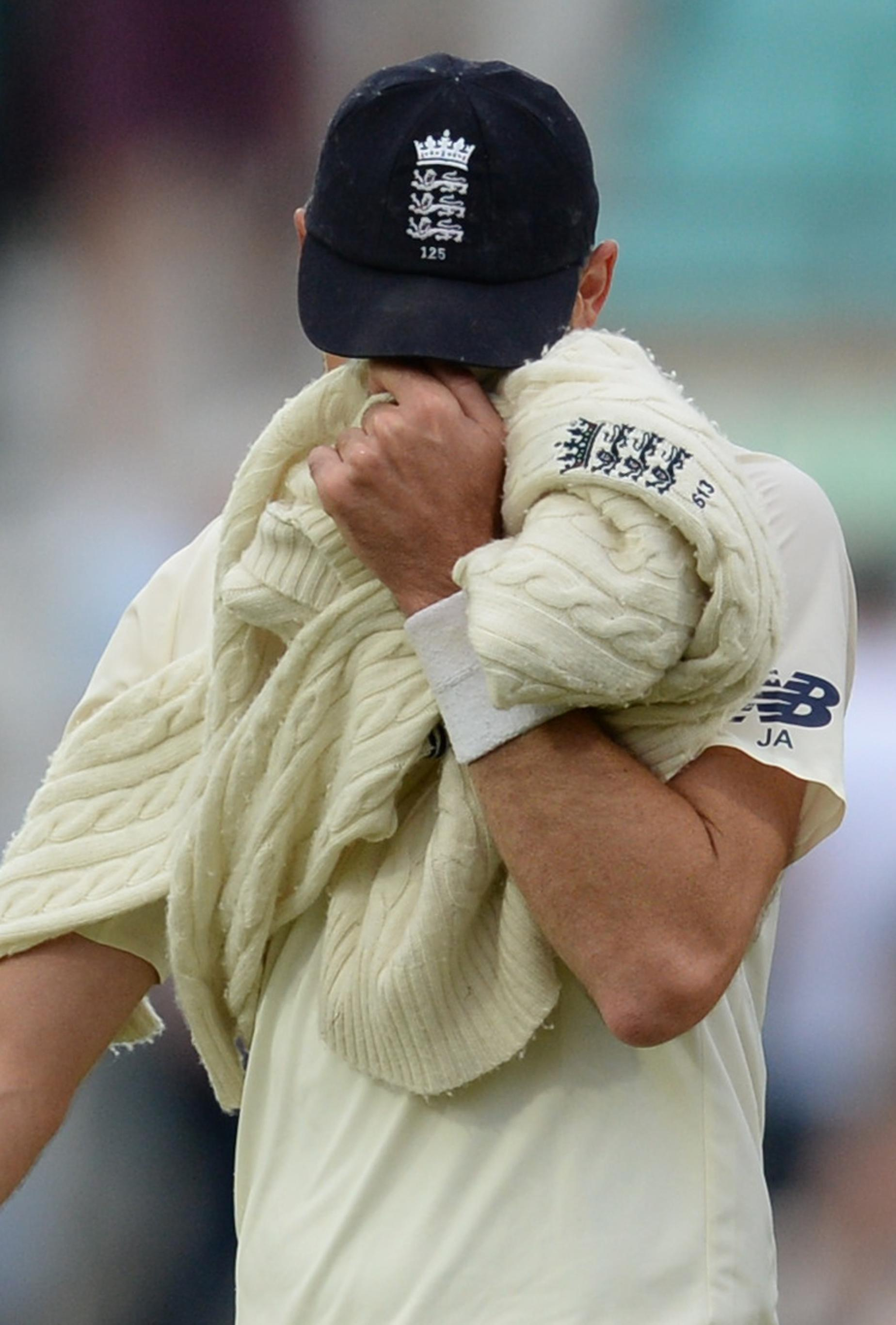 James Anderson admits he had a tear in his eye after breaking the Test record - but says he was mainly relieved that batsman Alastair Cook bowed out in style