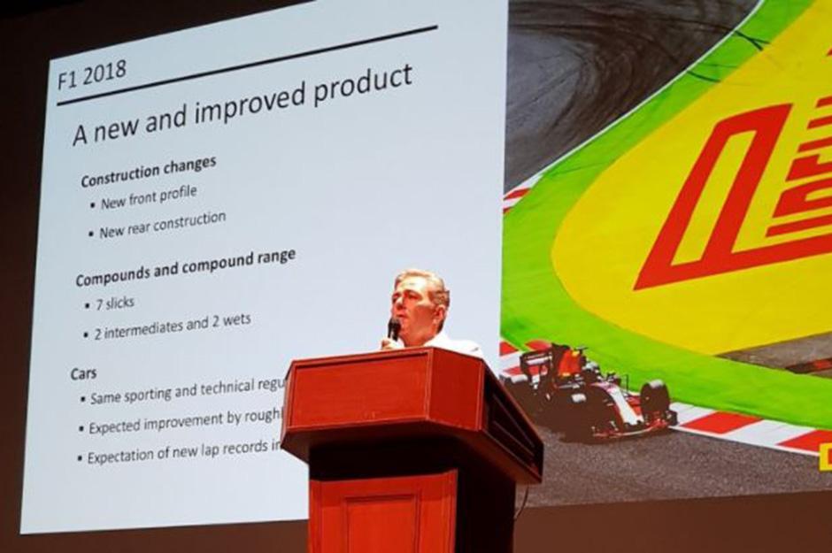 Pirelli's motorsport boss Mario Isola talks through the changes in tyres