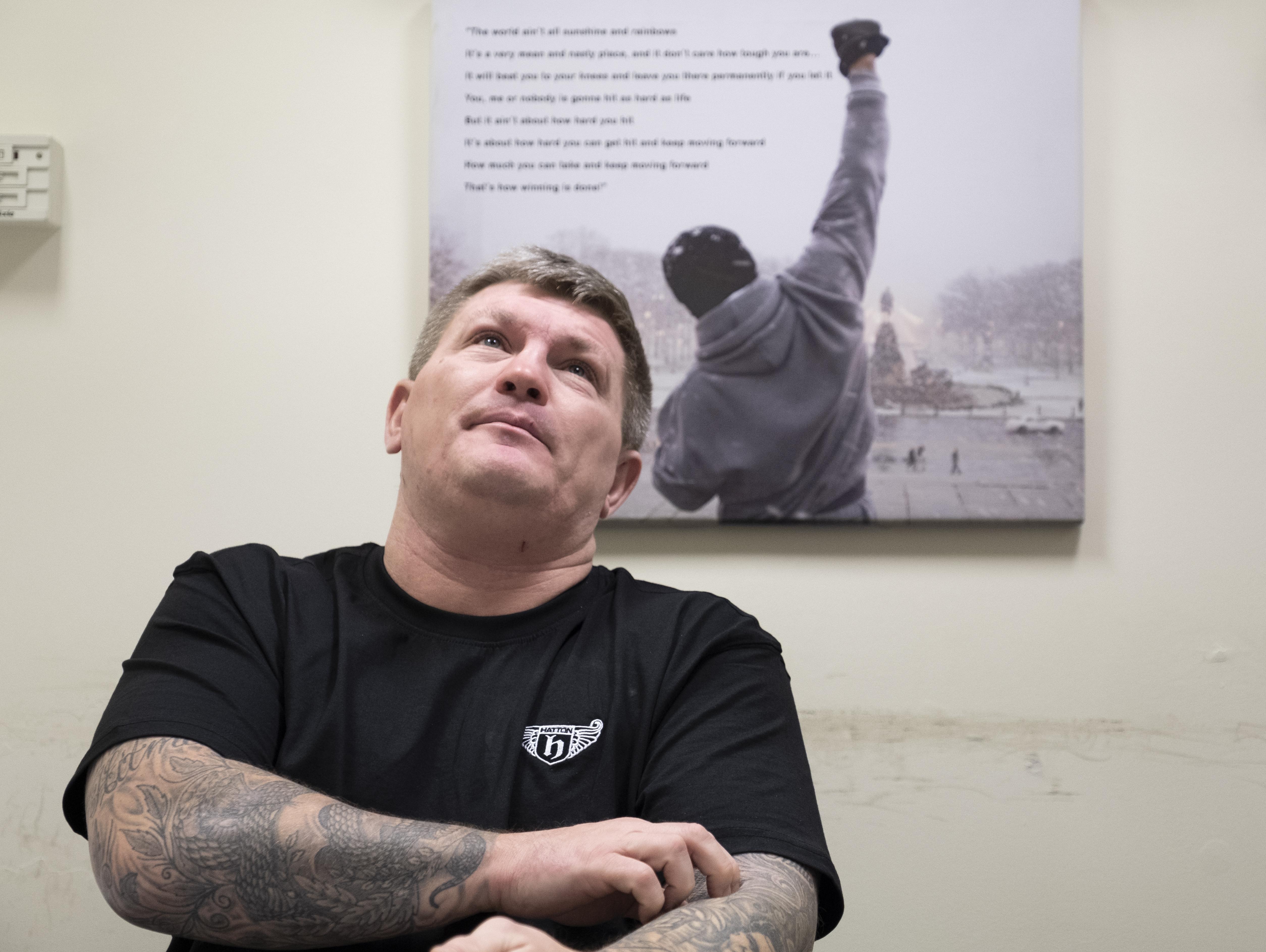 Hatton believes he has always had depression