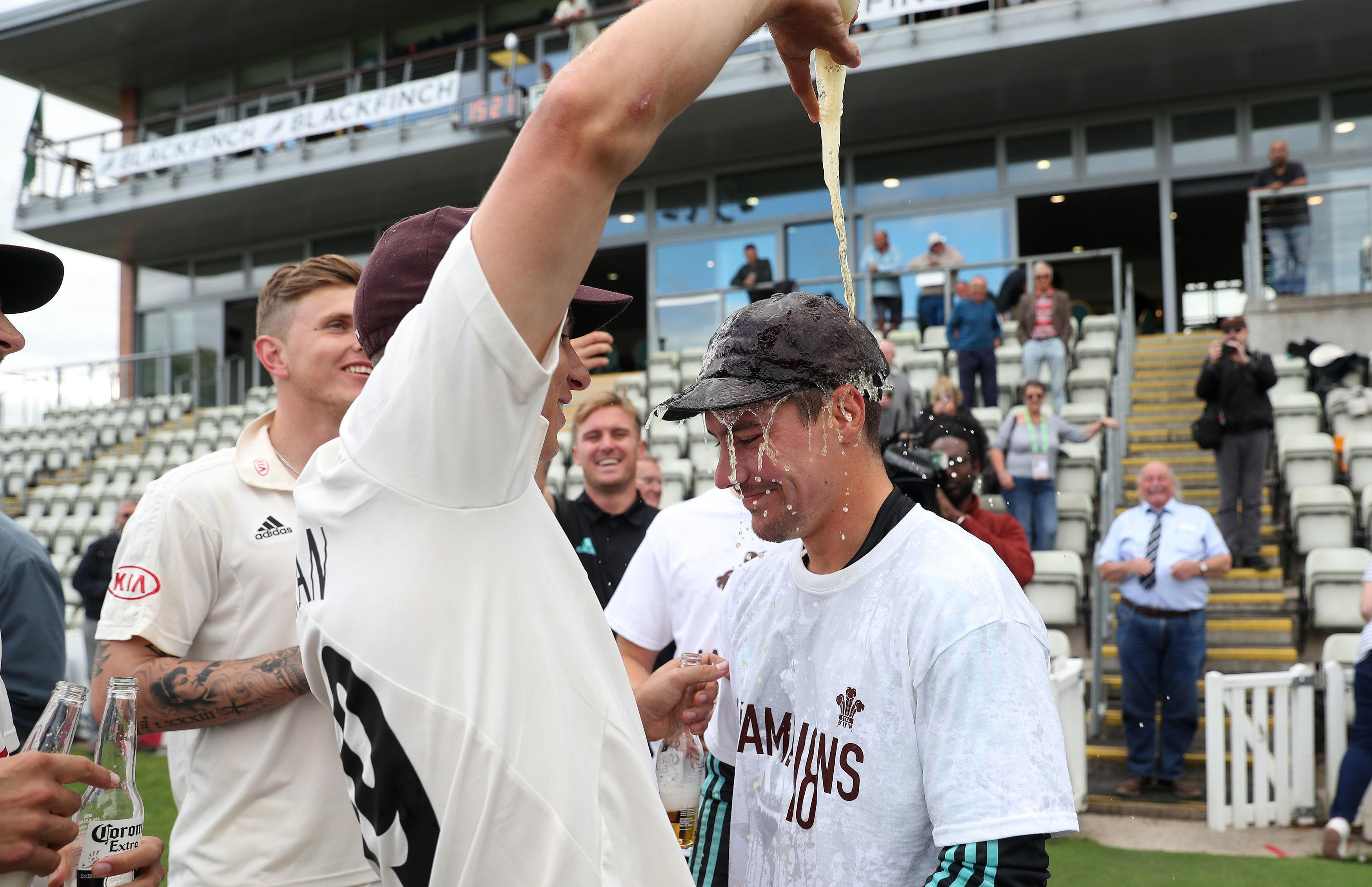 County champions Surrey were gunning for a tenth-straight win