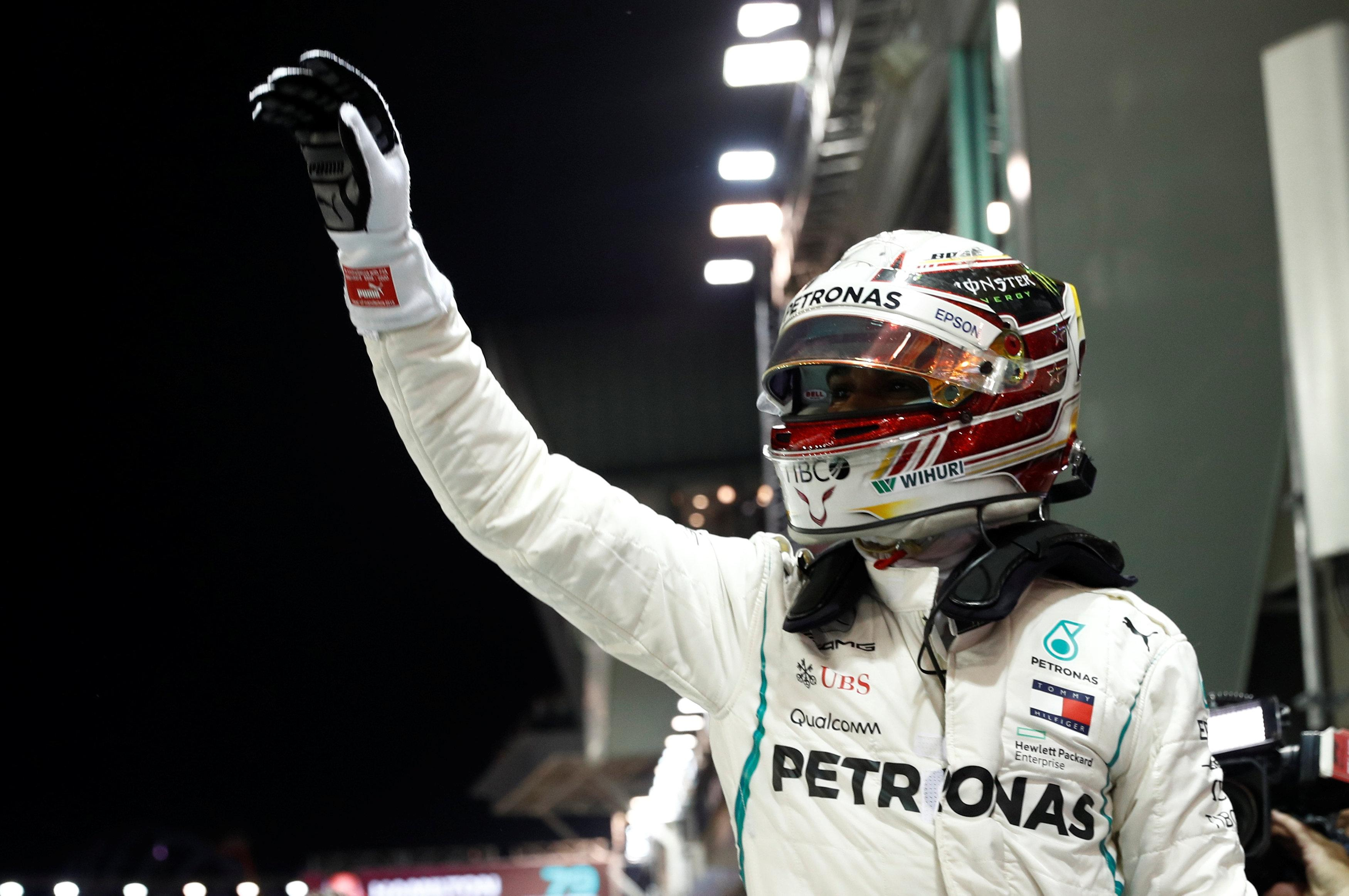 Hamilton hailed his pole lap as one of the best of his career