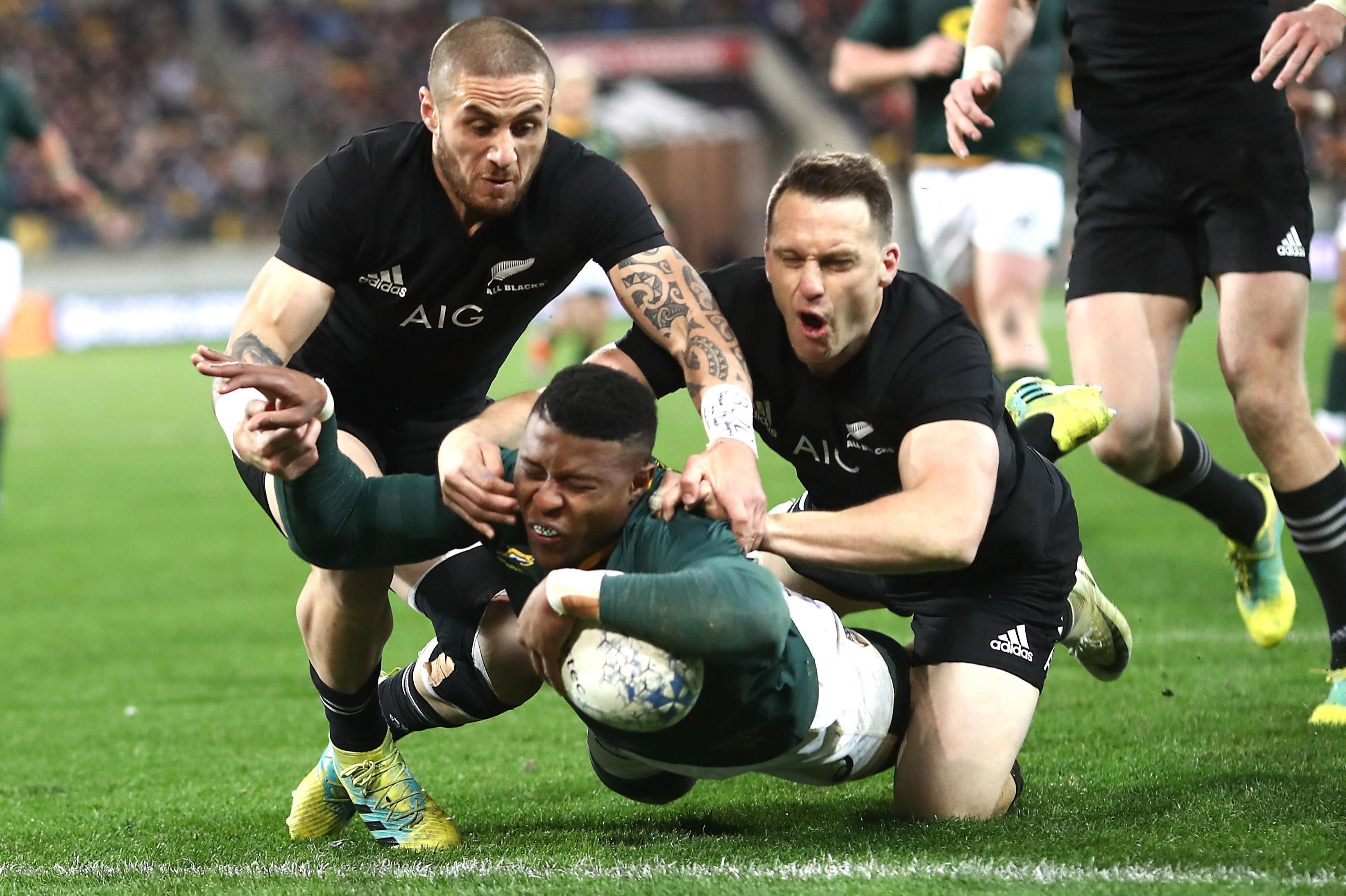 South Africa are on cloud nine after a stunning victory in New Zealand