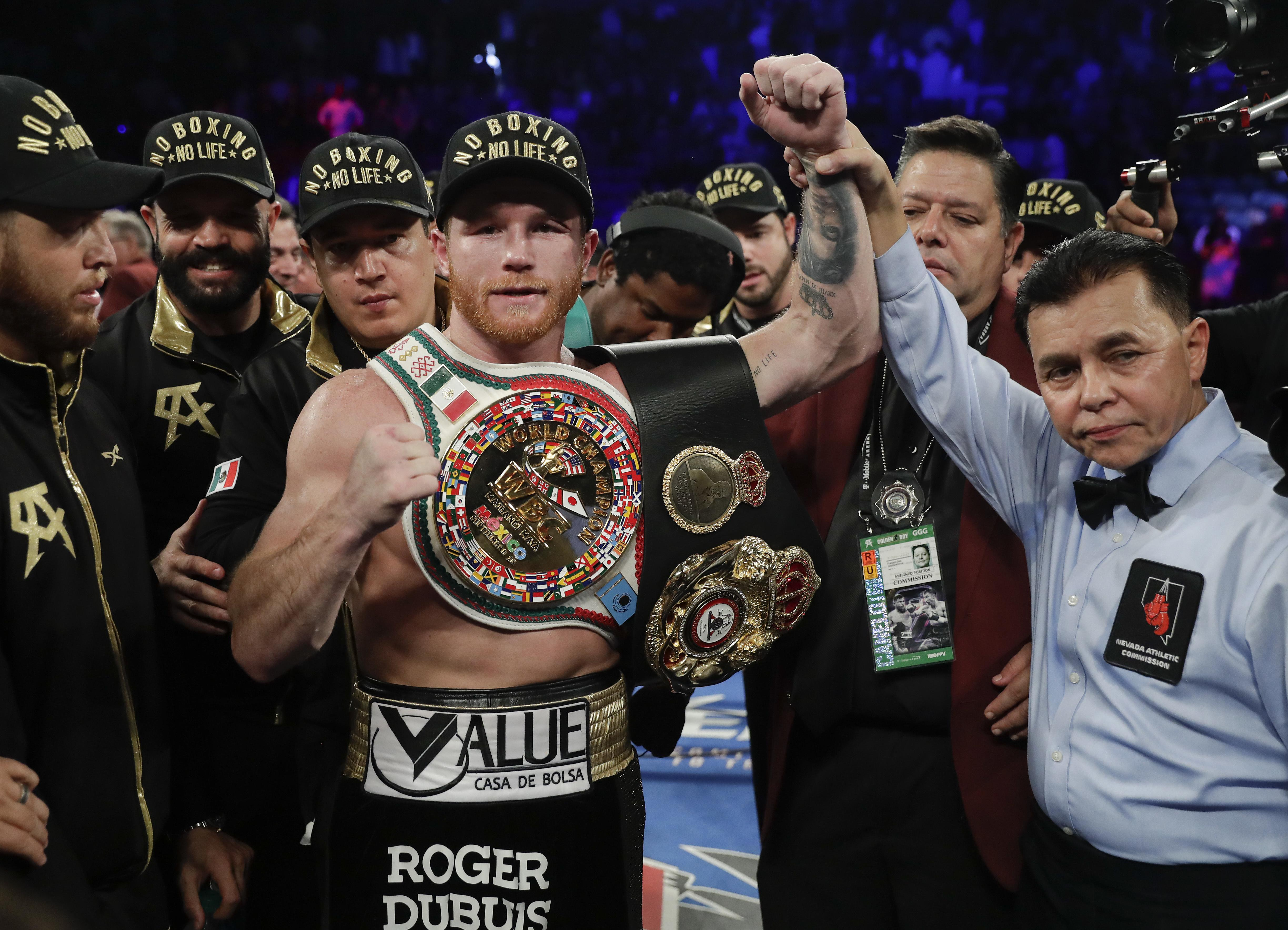 Carl Frampton disagreed with the judges decision in GGG-Canelo 2