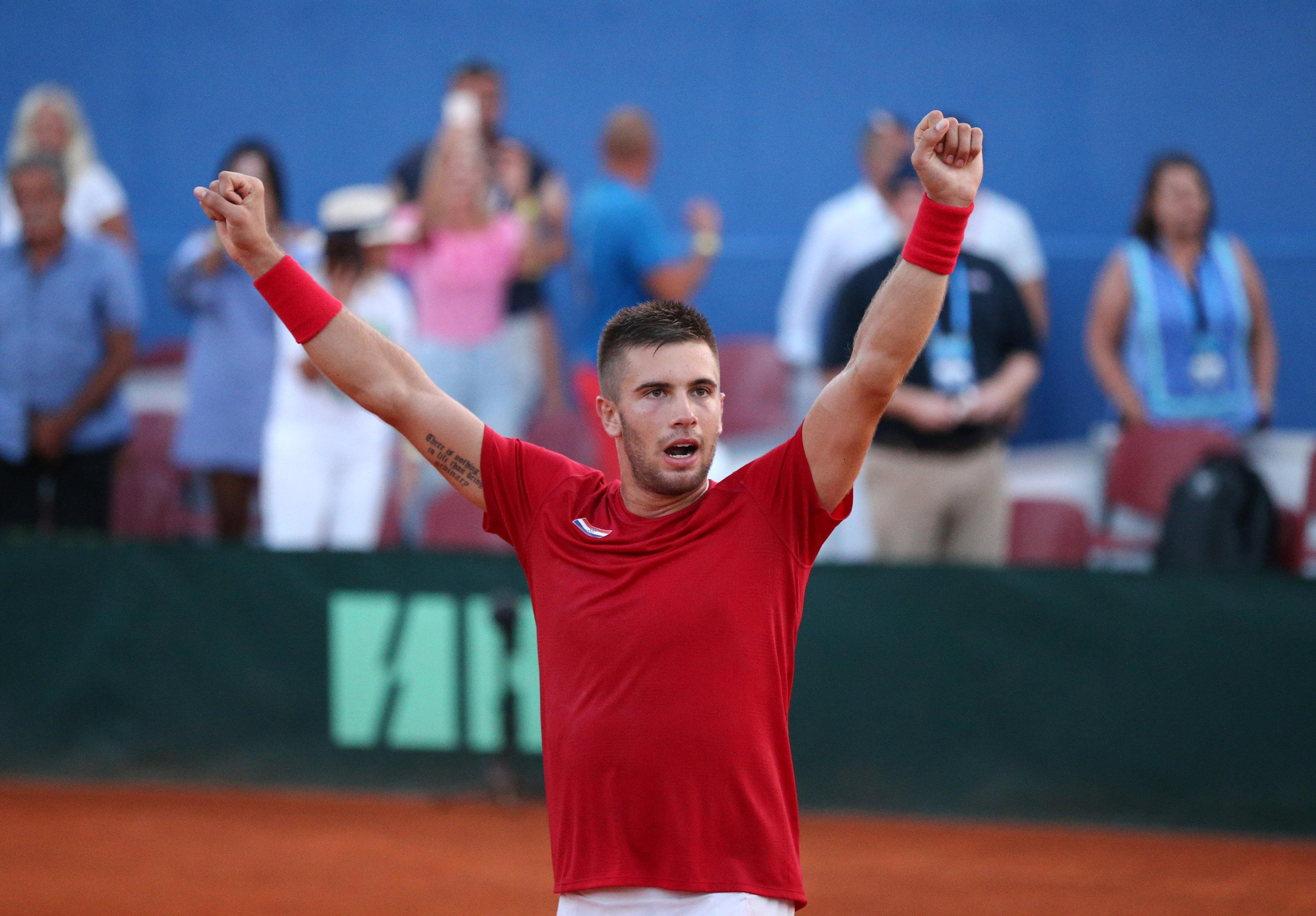 Borna Coric edged out Frances Tiafoe in one of the all-time classics