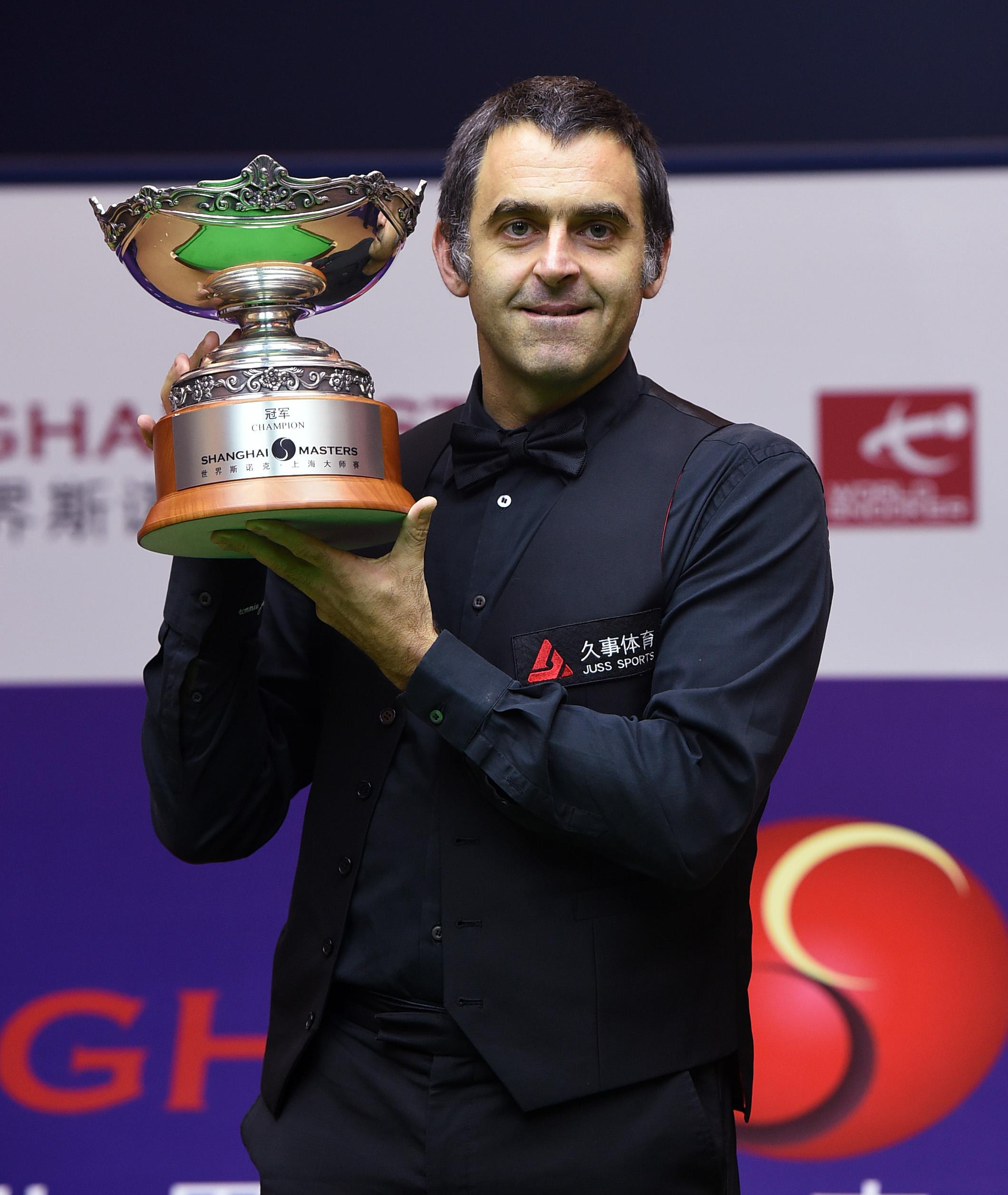 Five-time world champion Ronnie O'Sullivan is famed for his angry outbursts