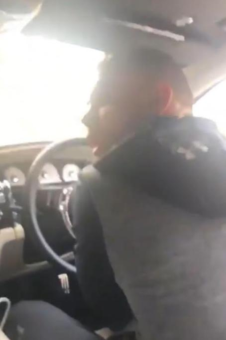 Footage of Saunders taunting a female drug addict surfaced on social media