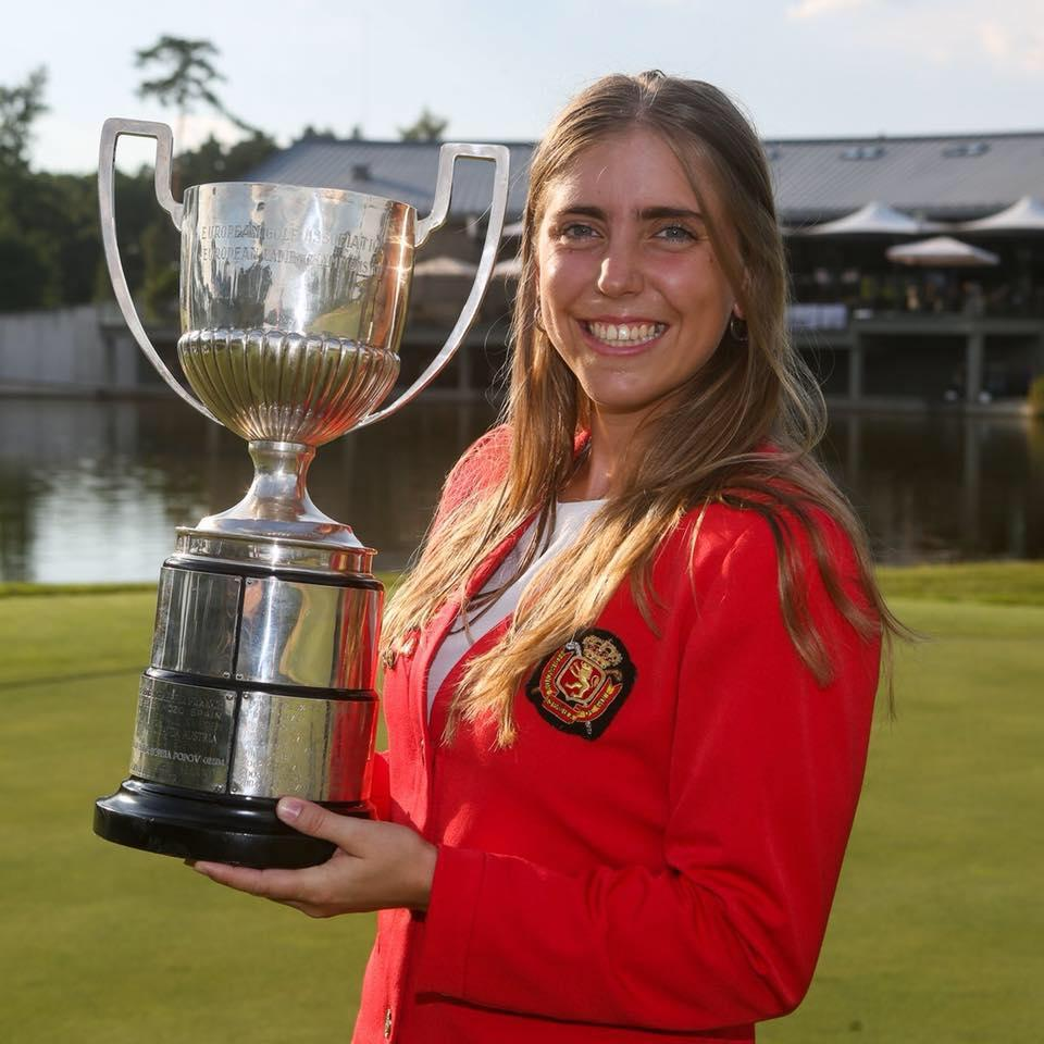 Amateur golf champion Celia Barquin Arozamena has been found dead at 22