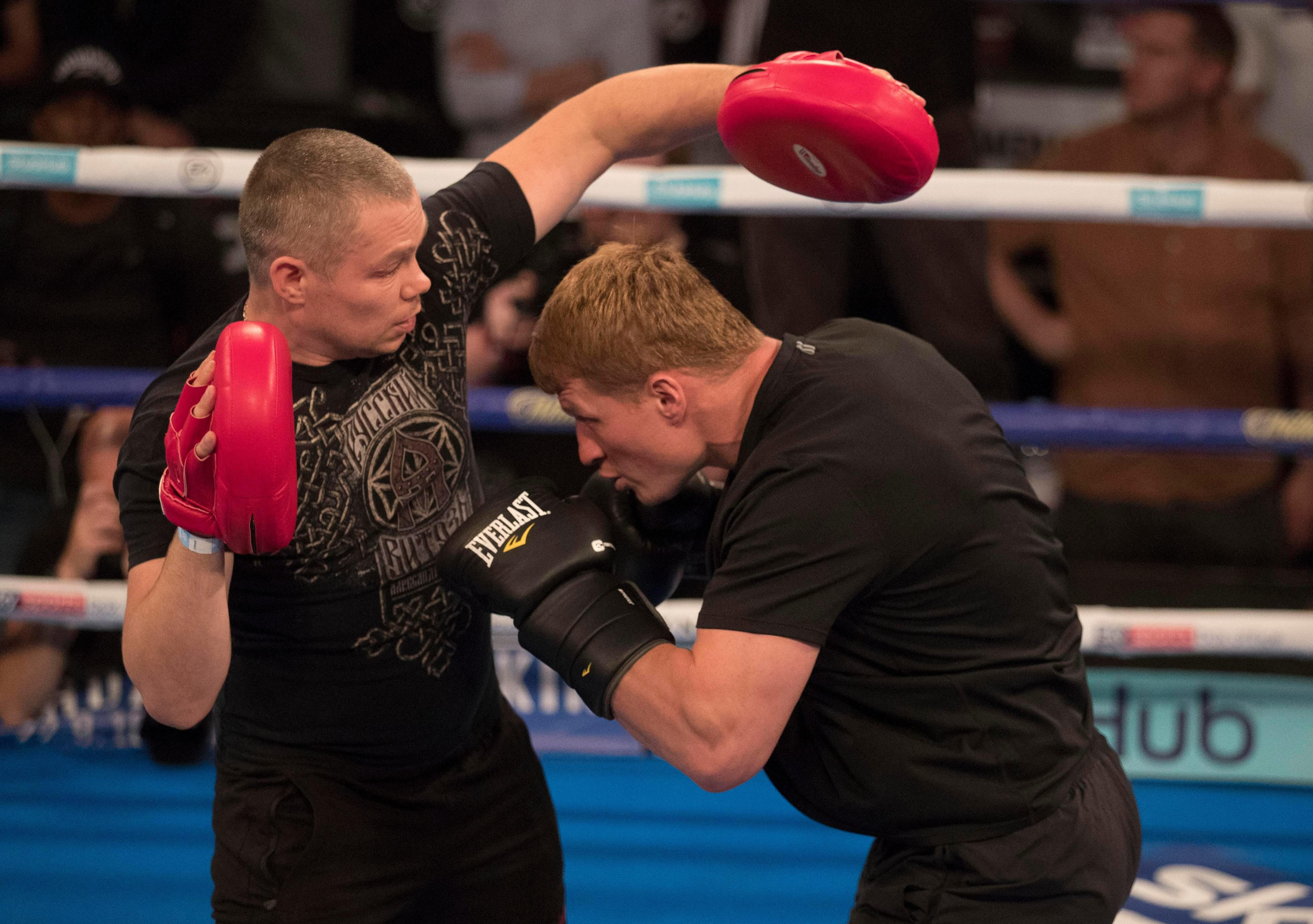 Alexander Povetkin will have to get in Anthony Joshua's face if he wants to spring what would be a huge shock