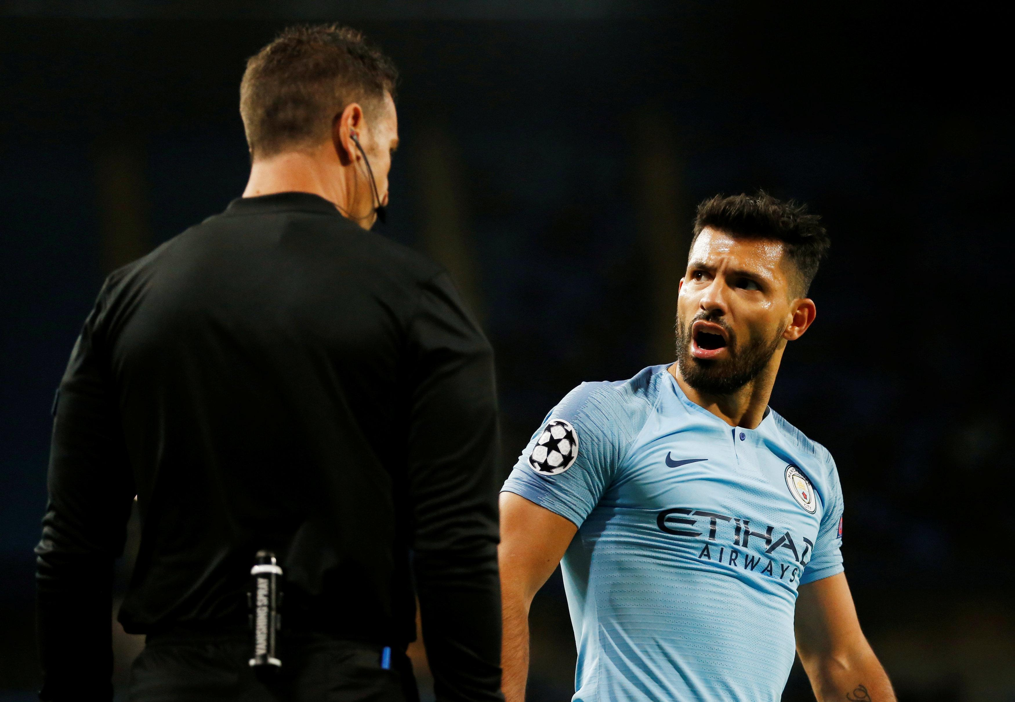 The likes of Sergio Aguero had a night to forget as City look to regroup for the weekend league clash with Cardiff