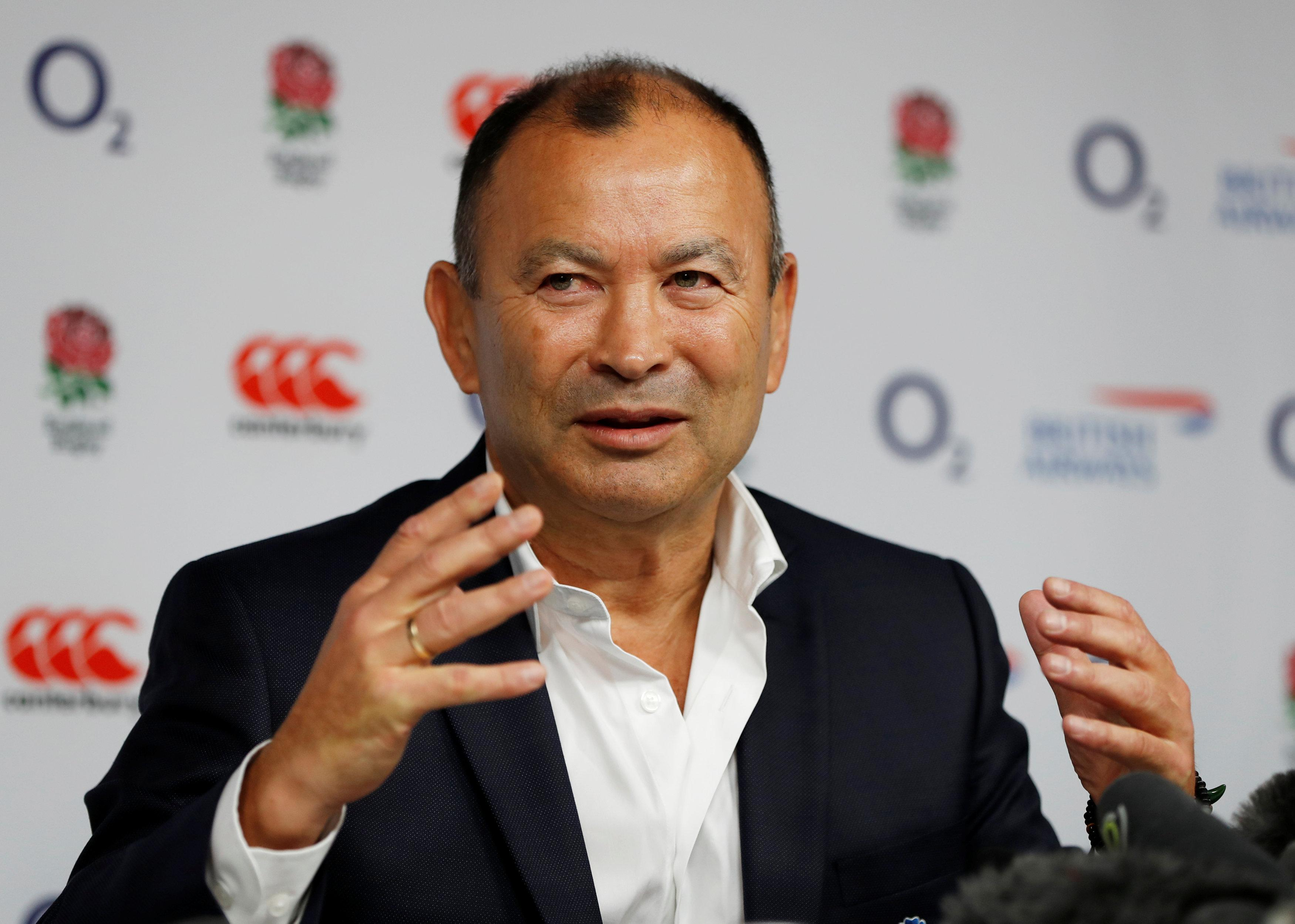 Eddie Jones will speak to Gareth Southgate about England's world cup wag policy next year