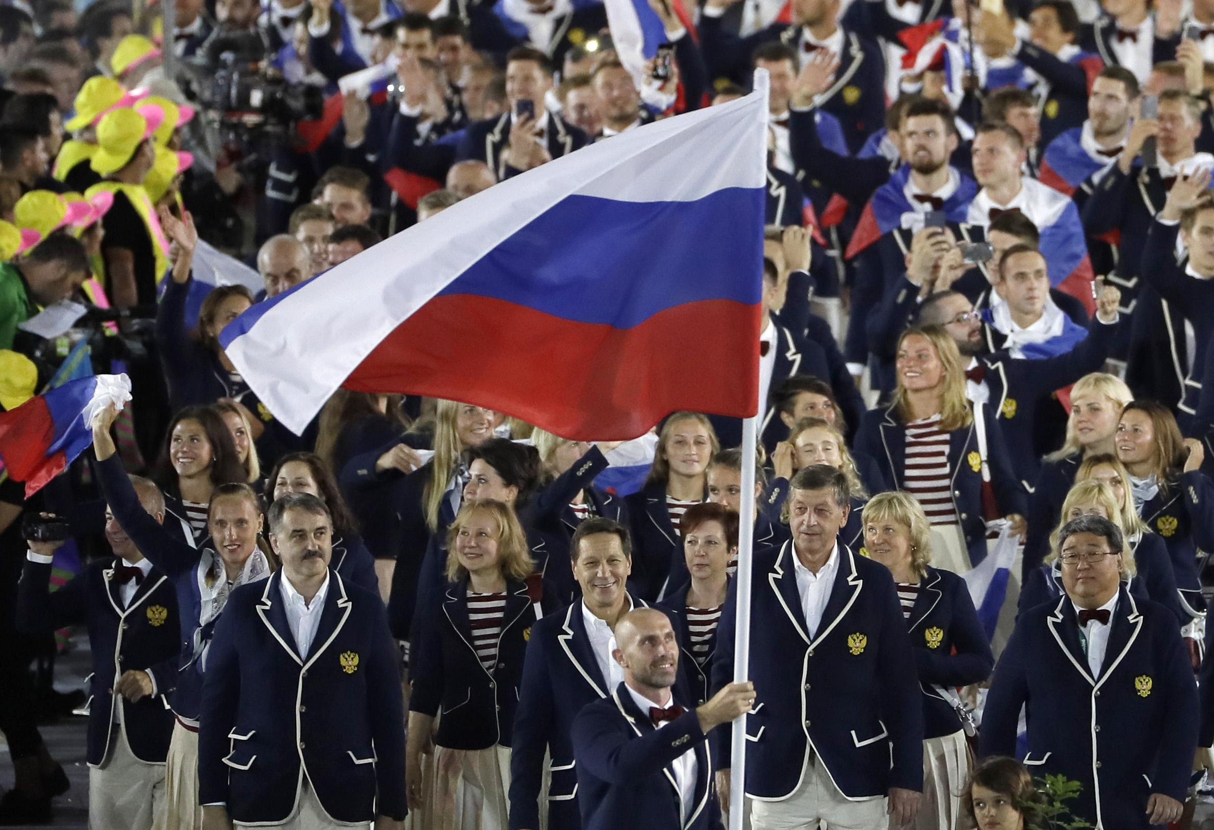 Russia were originally banned for three years for doping offences in the sport