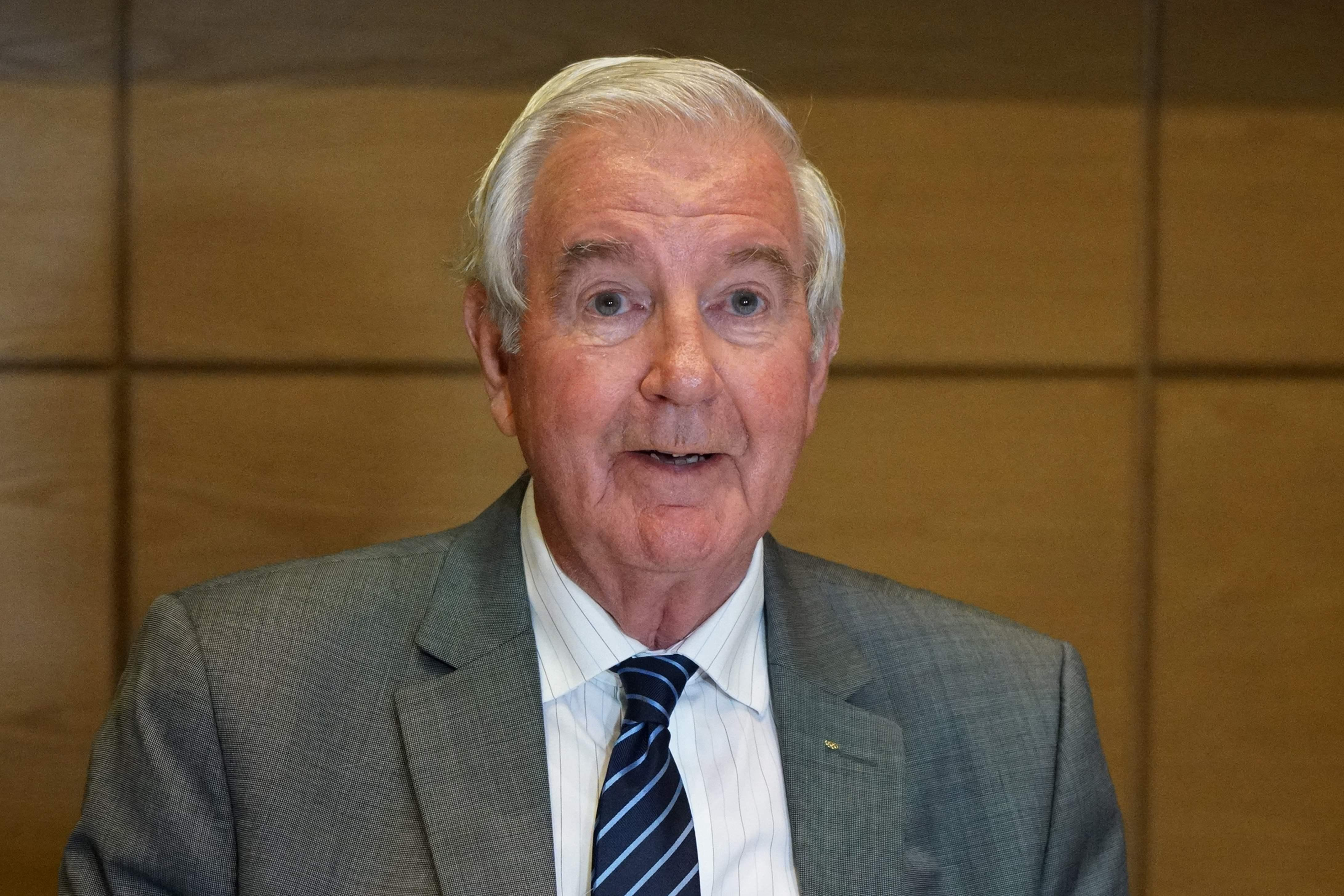 Brit and WADA president Craig Reedie oversaw the overruling of the ban