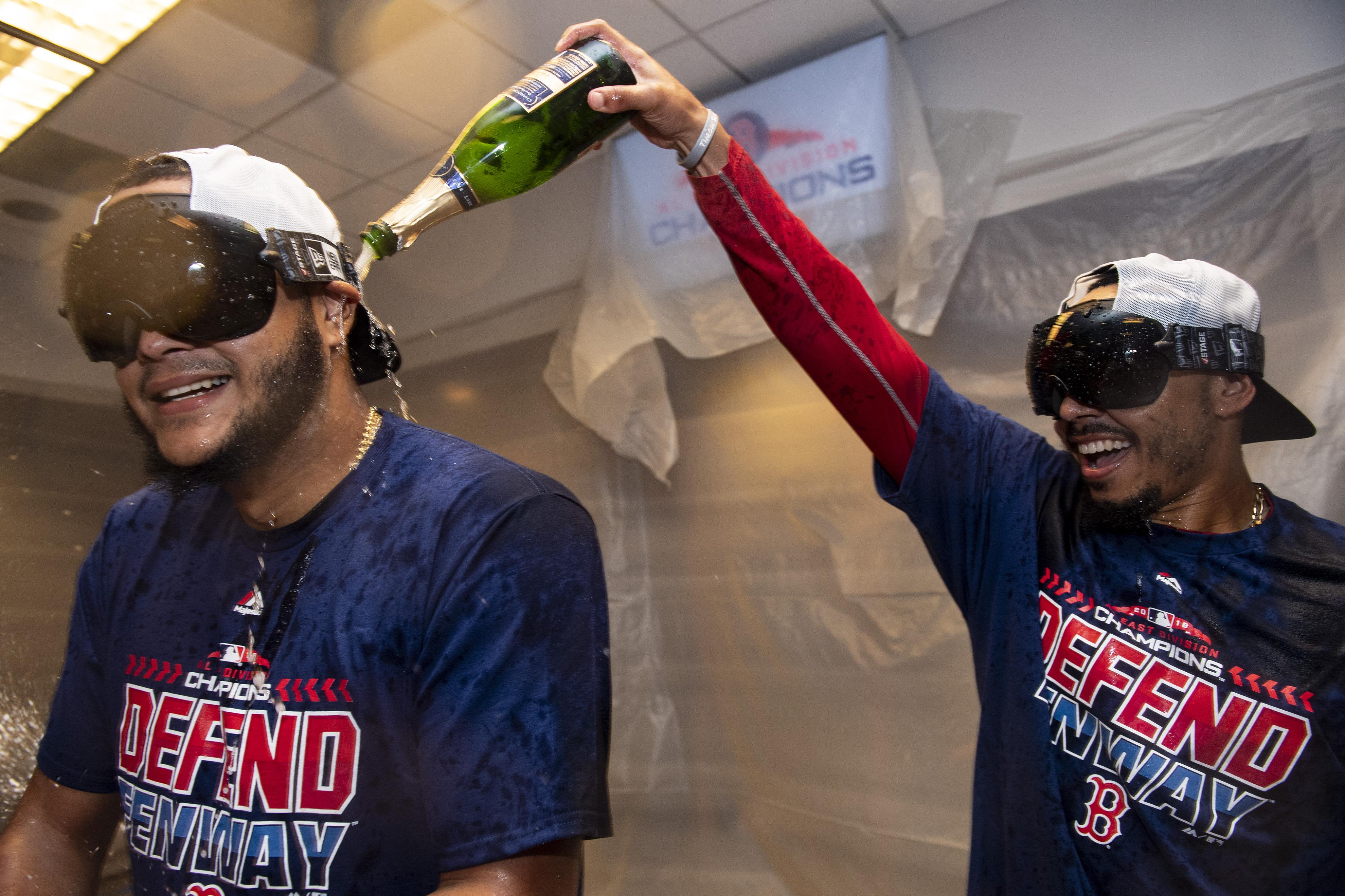 The Boston Red Sox have never finished in first place three years in a row