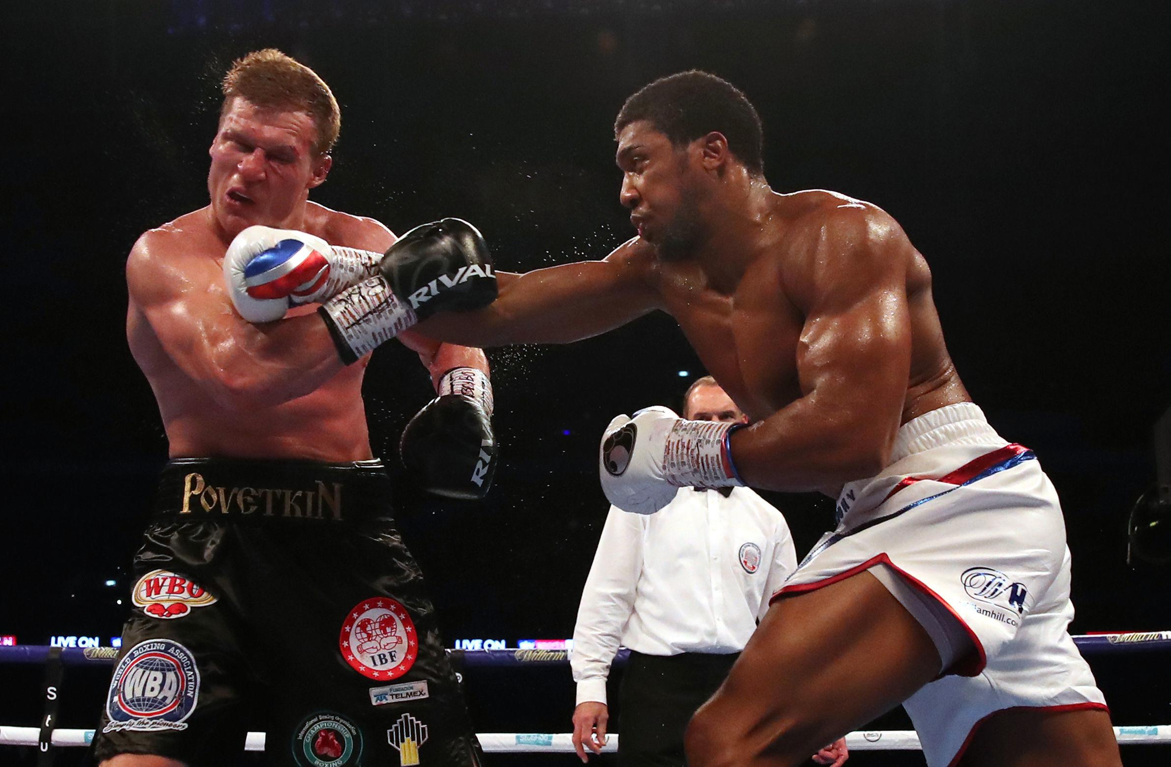 Olympic gold medallist Joshua extended his unbeaten record to 22-0