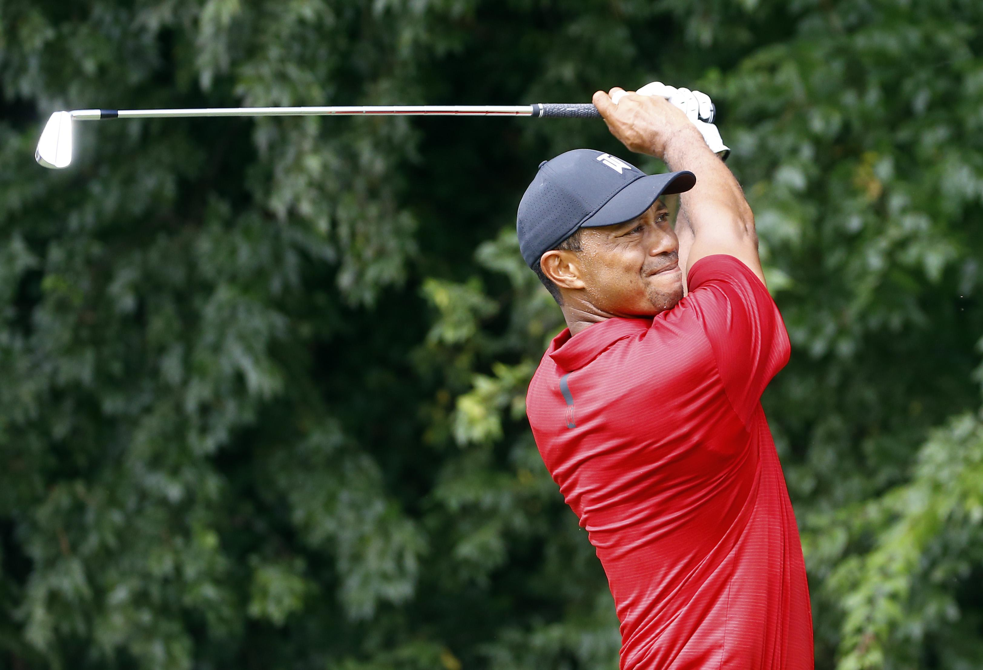 Woods went into the final round leading by three stokes and was not threatened
