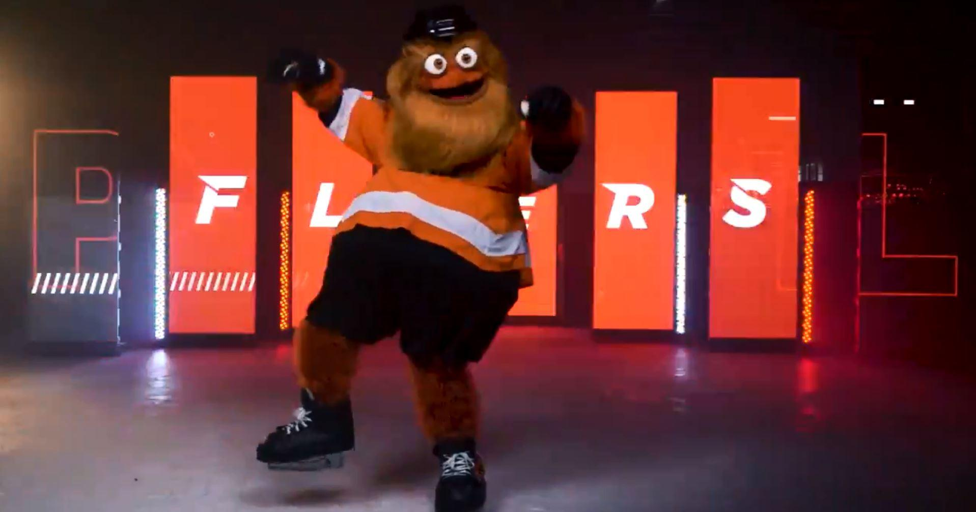 Philadelphia Flyers unveiled their new mascot with a weird dance video on Twitter