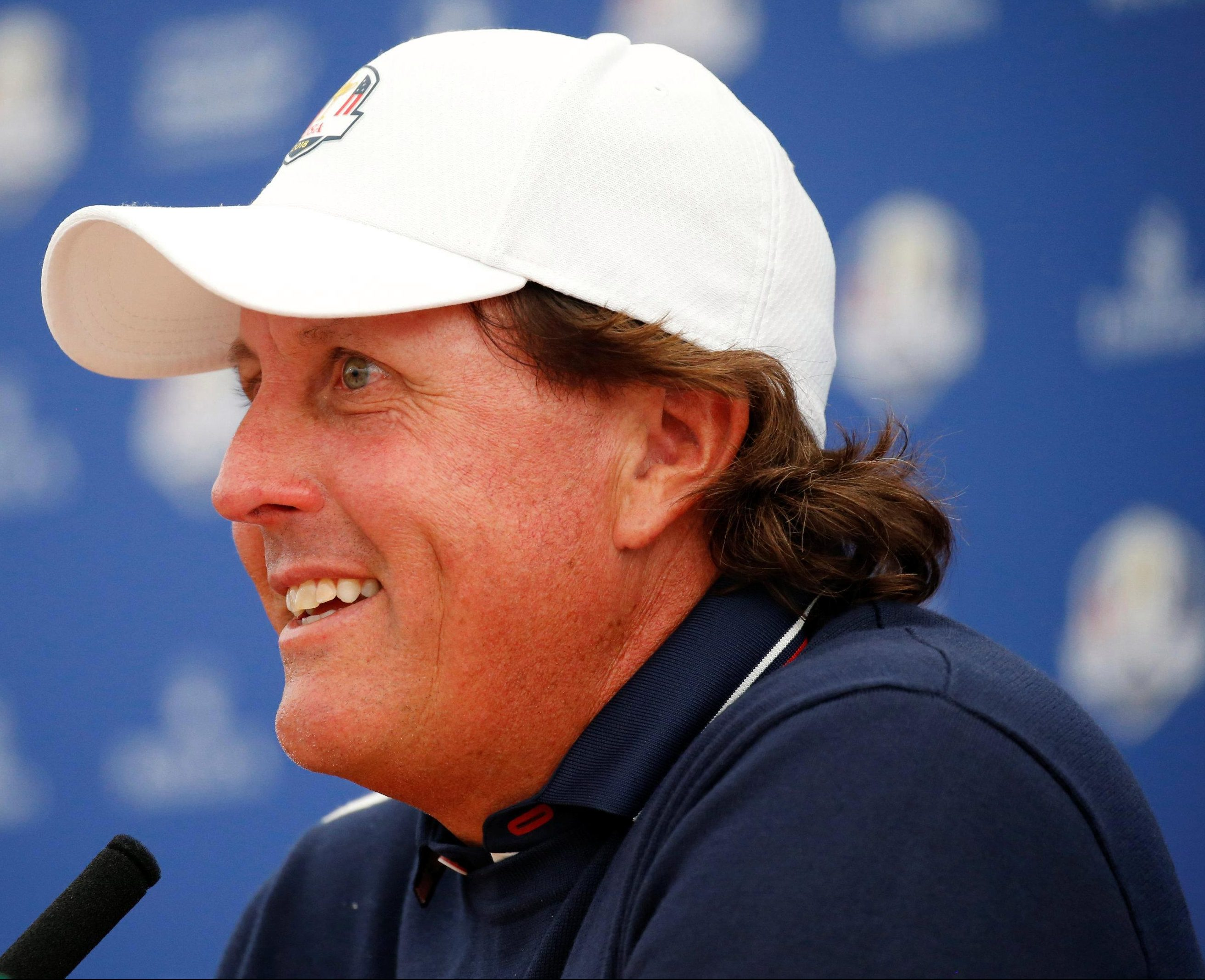 Phil Mickelson, like Tiger, will want to improve on his Ryder Cup record