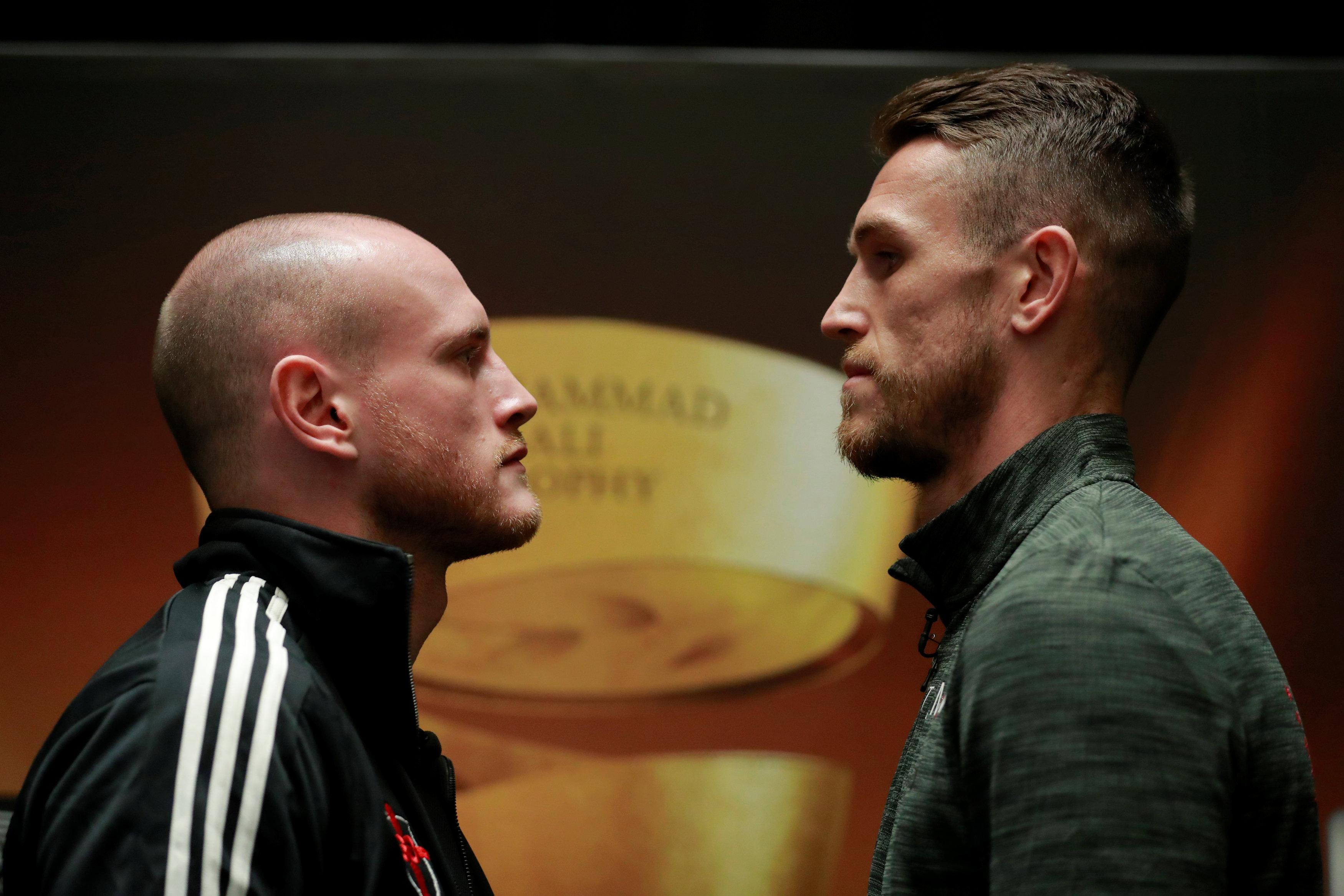 Groves was looking to inflict a first professional defeat on Liverpudlian Smith