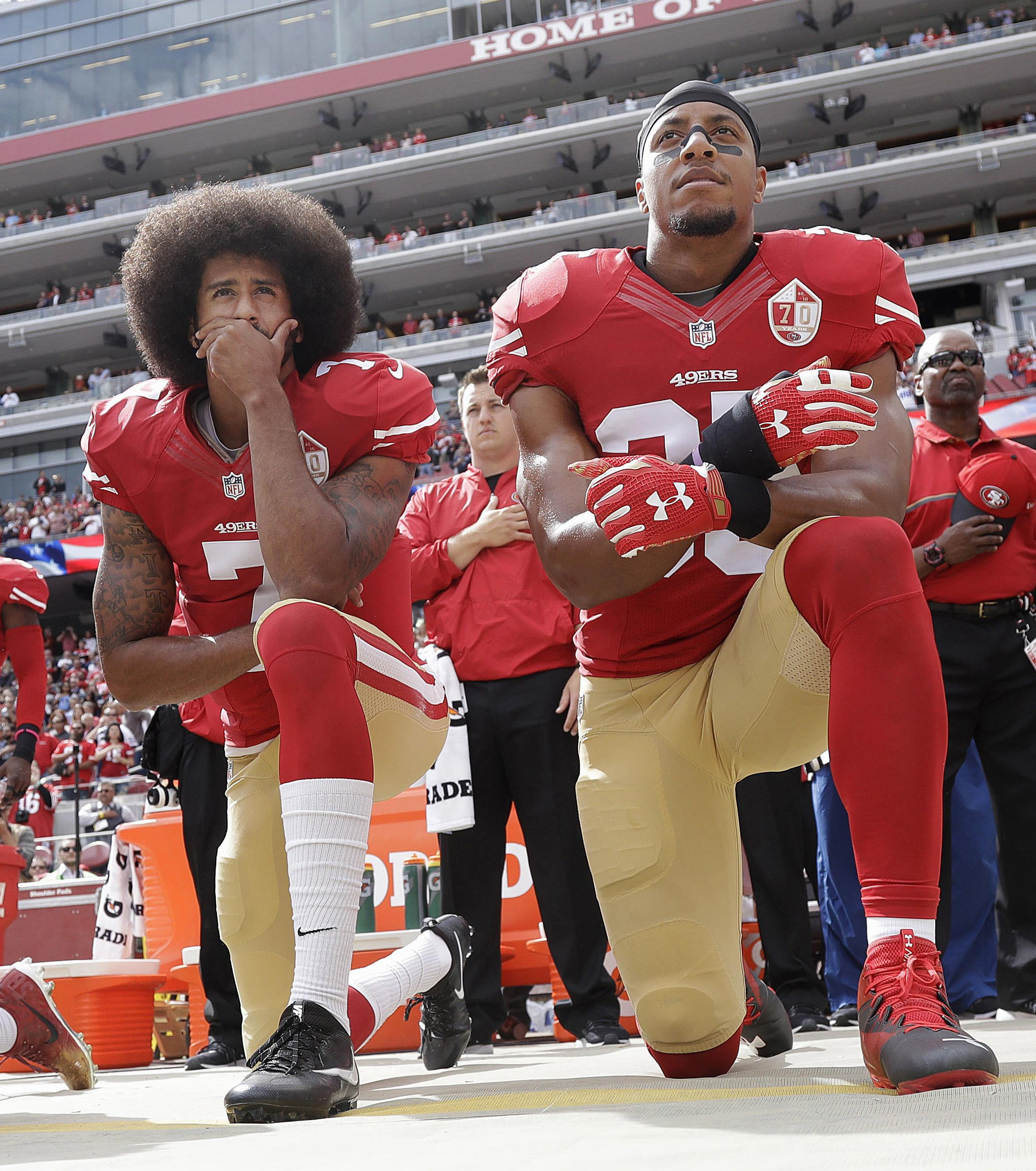 NFL star Eric Reid has joined the Carolina Panthers