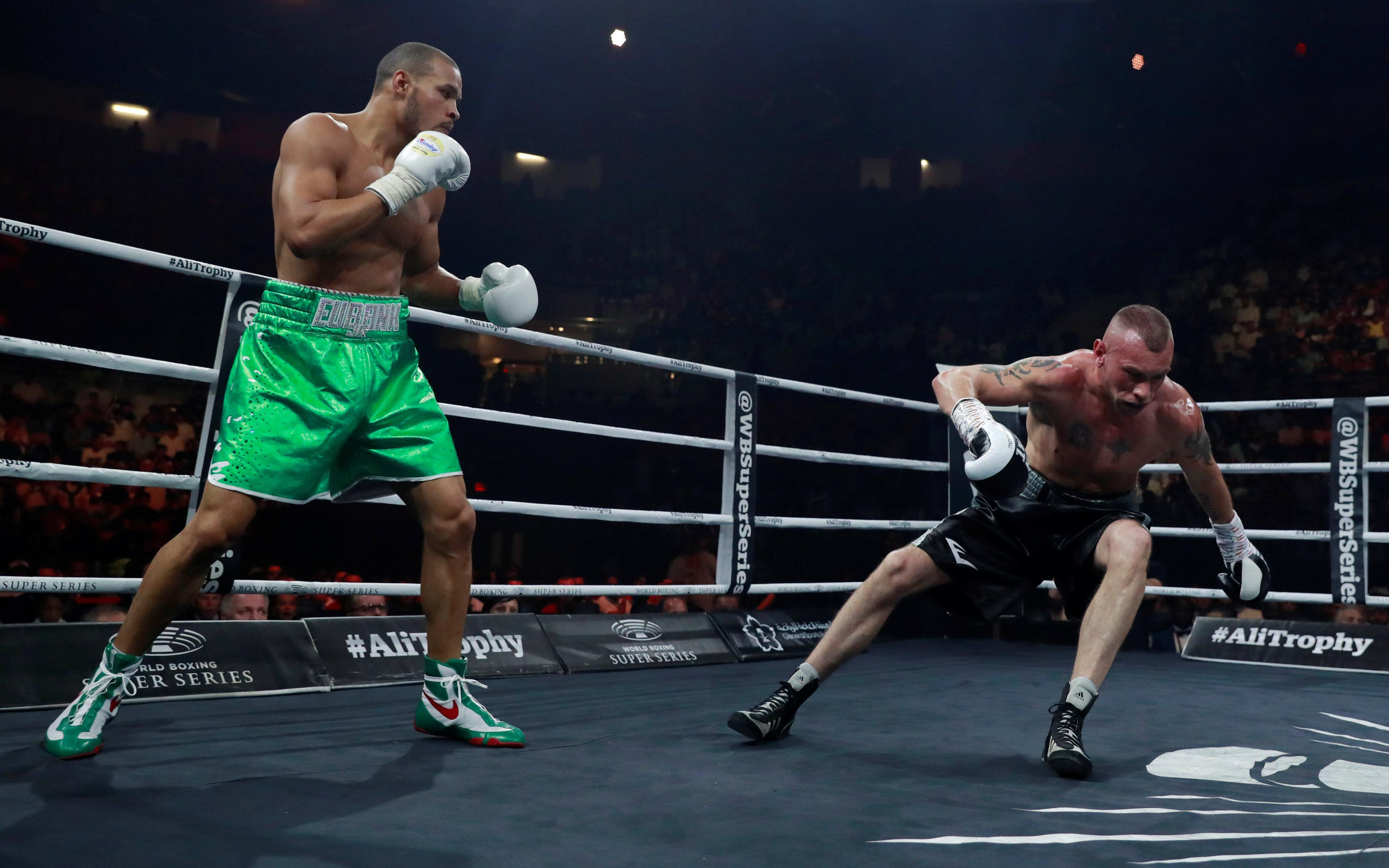 McDonagh was floored by Eubank Jr with a left hook in the first round