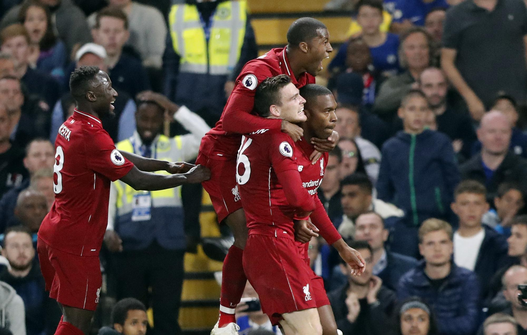Daniel Sturridge scored a 90th-minute worldie to salvage a draw for Liverpool