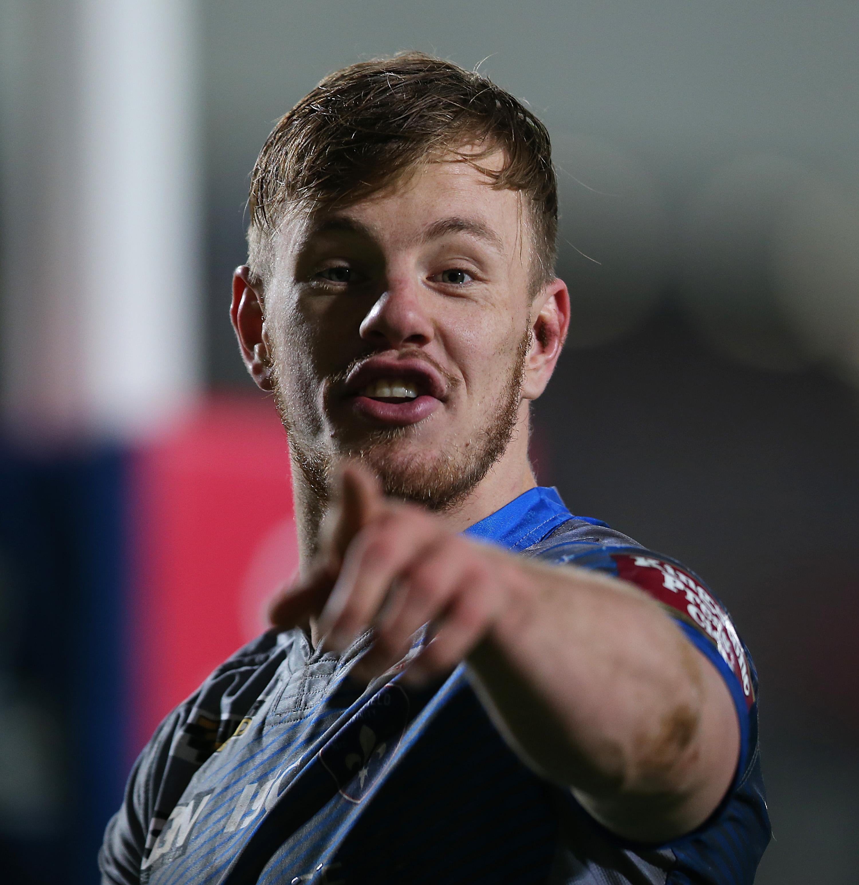 Wakefield winger Tom Johnstone will make his England debut against France.