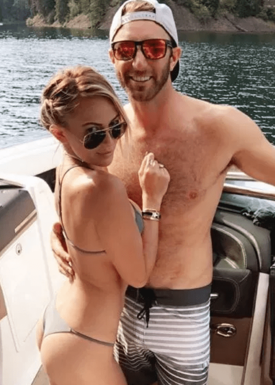 Paulina Gretzky has deleted all photos of fiance Dustin Johnson from her Instagram page