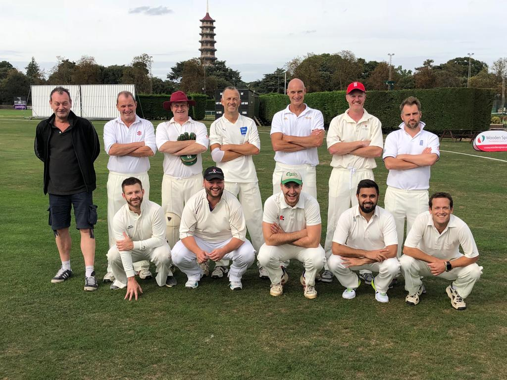 The victorious Rugby Union Writers' Club XI