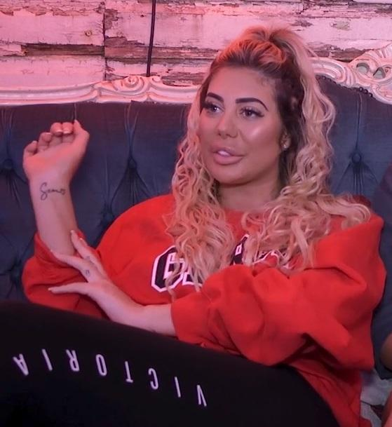 e185bd7188891 Chloe Ferry reveals she plans to change 'Sam' tattoo to 'ham' after ...