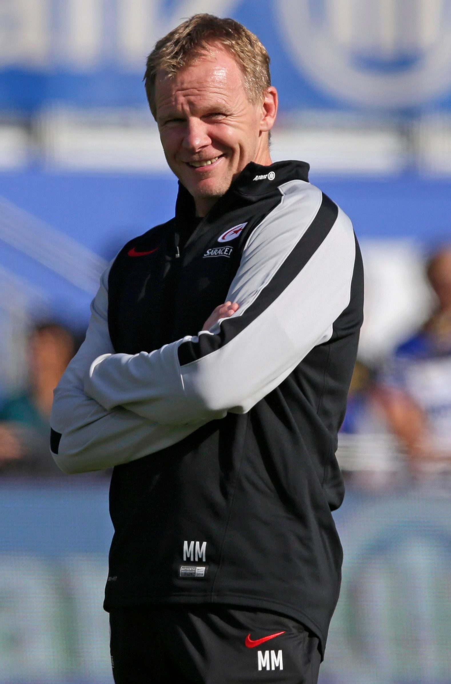 Saracens boss Mark McCall is raring to go in the Champions Cup