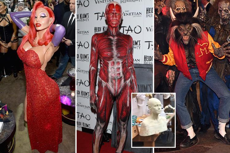 As Heidi Klum Teases Her Latest Halloween Costume Take A Look Back