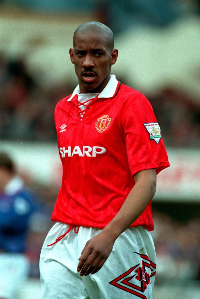 Dio Dublin had a mega-move to Manchester United early in his career - but failed to really make it at Old Trafford