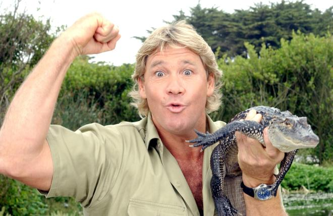 Steve Irwin was famed for his documentary series The Crocodile Hunter
