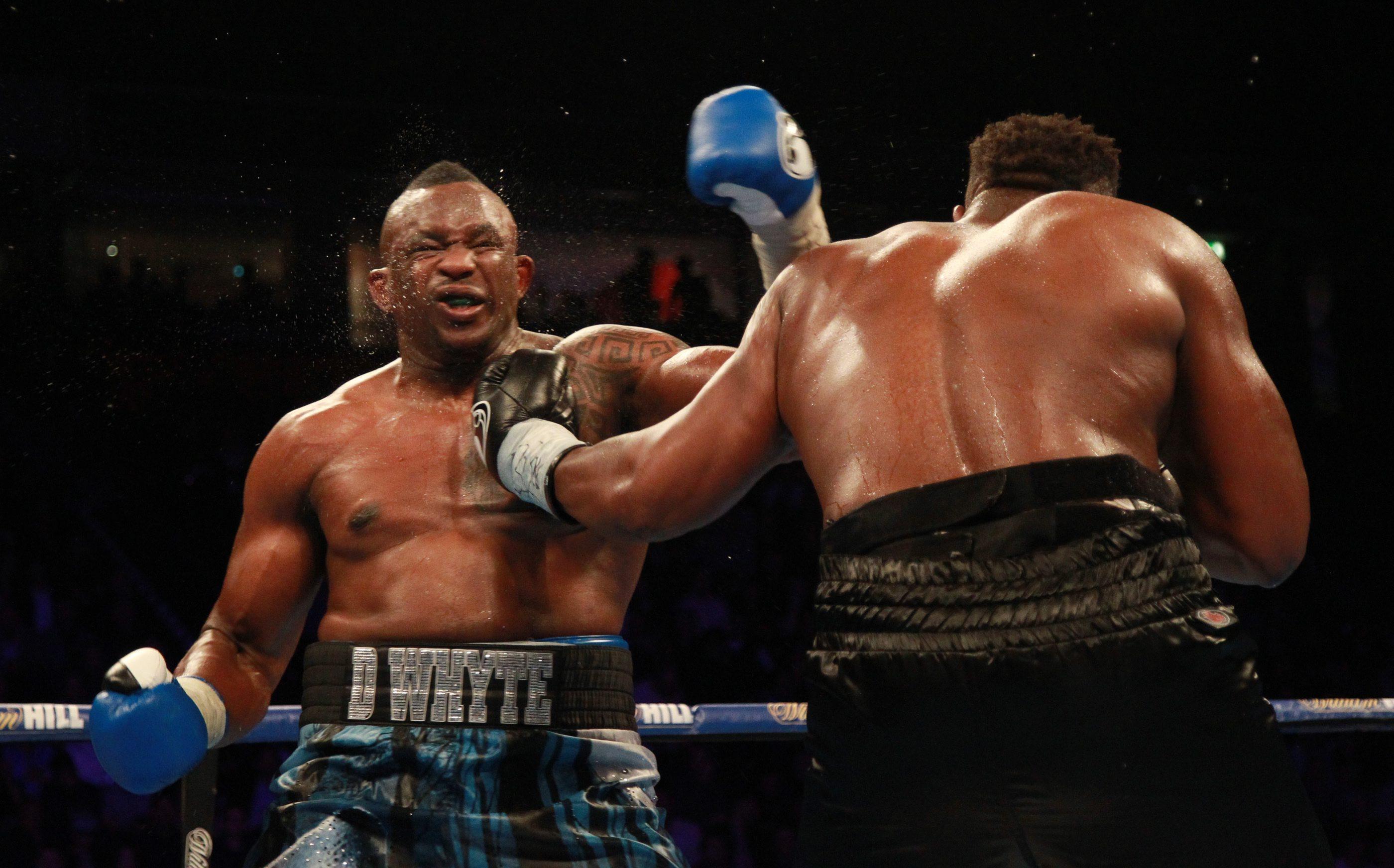 Dereck Chisora felt he won the war despite the judges decision for Whyte