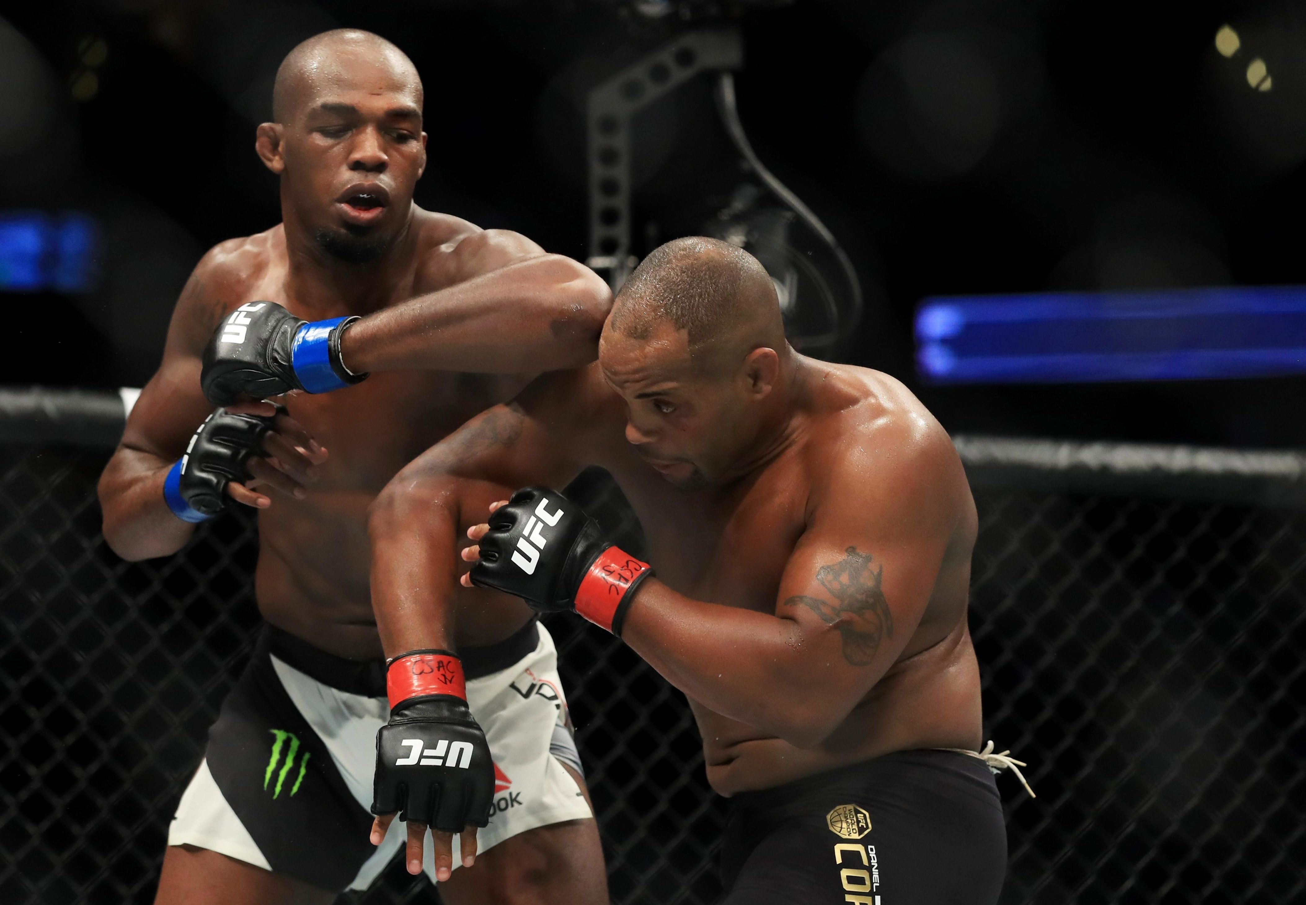 Jon Jones' most recent win over DC was ruled a no contest after he failed a drugs test