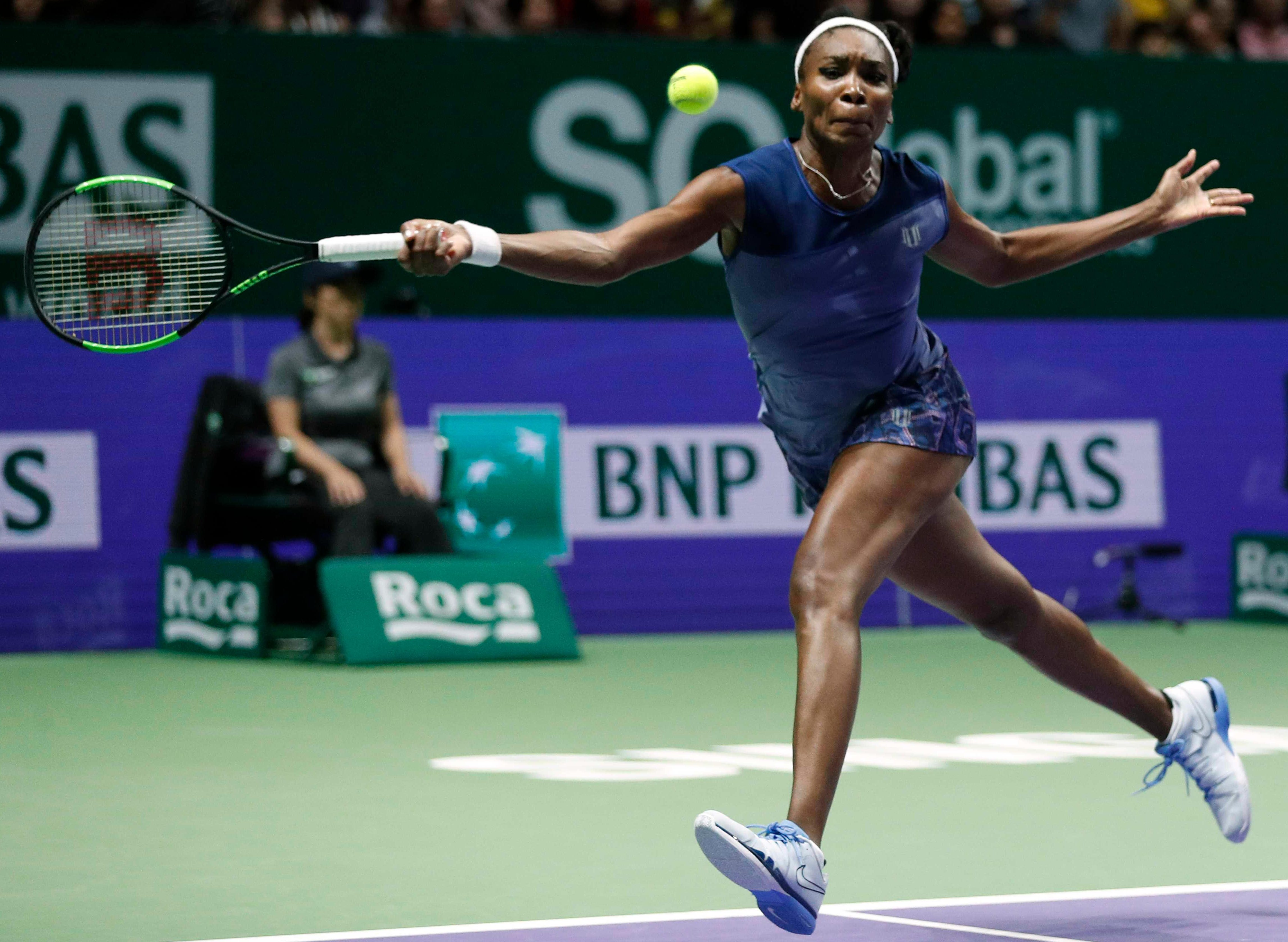 Williams made a great effort to make the final but couldn't match her Danish opponent on the day