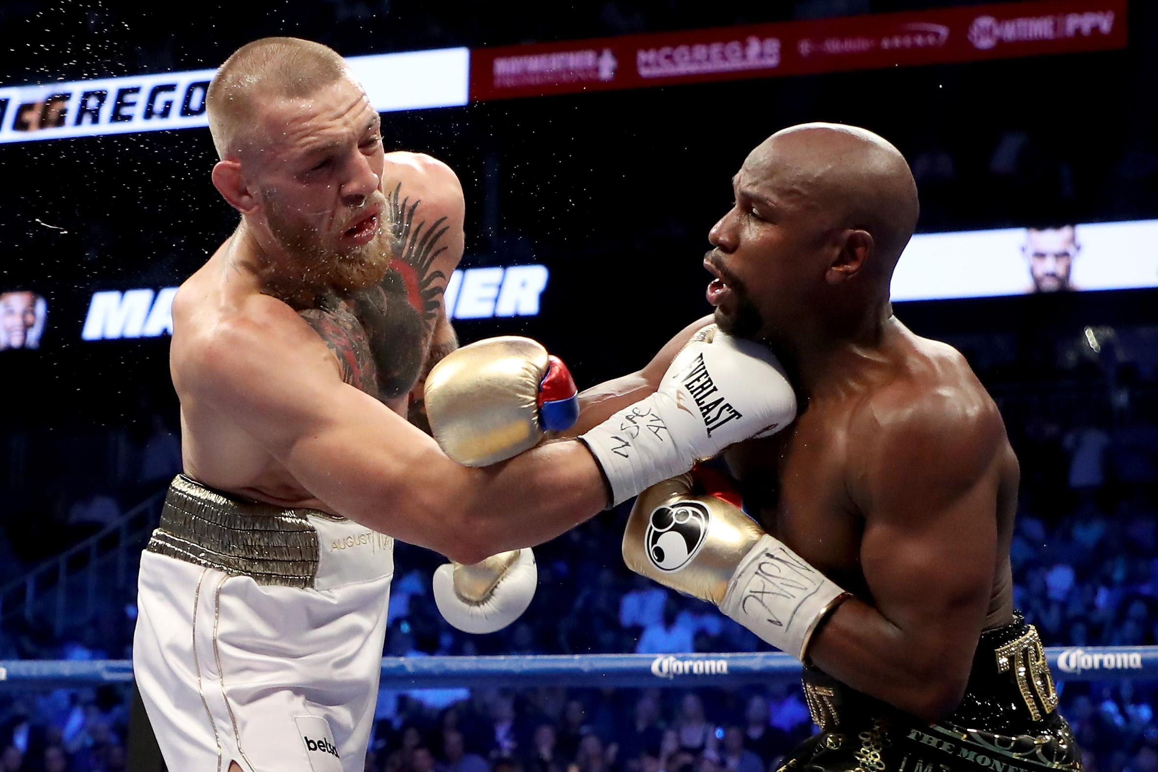 Floyd Mayweather came out of retirement to beat Conor McGregor last year