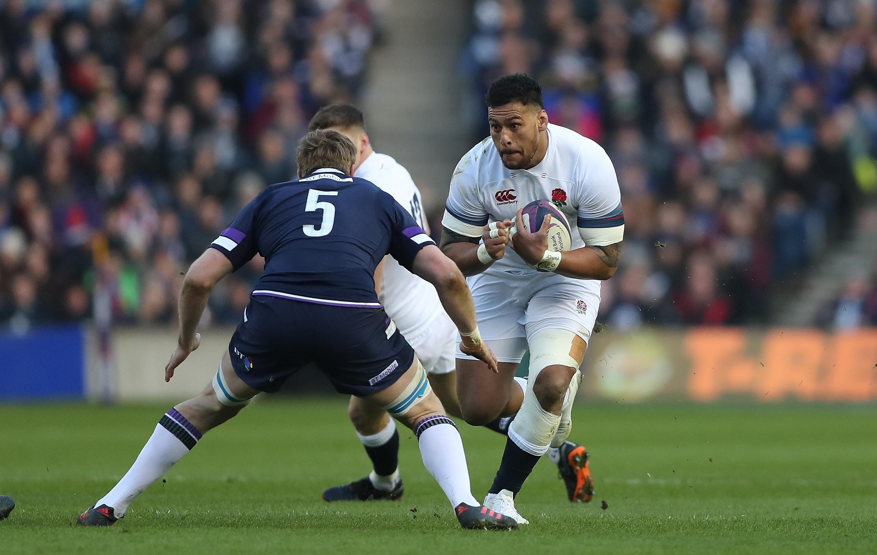 Nathan Hughes could miss England's autumn series after being cited for punching