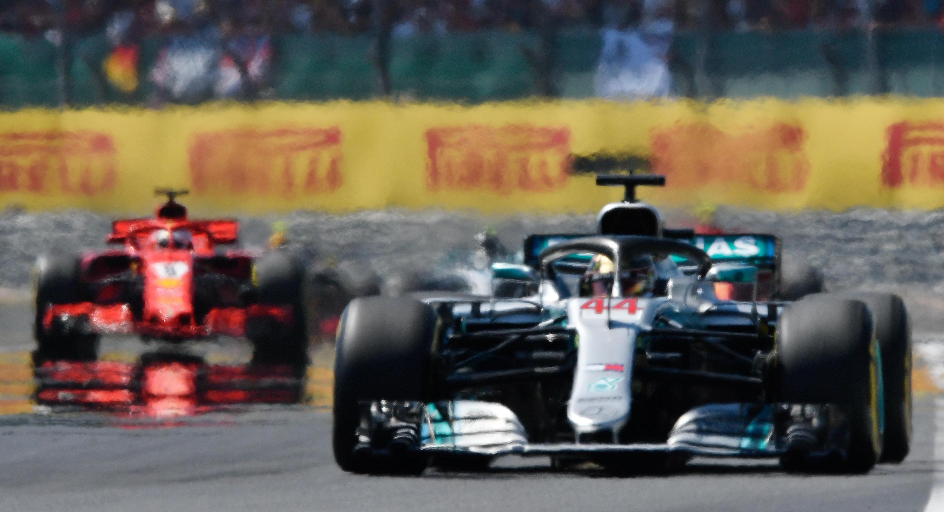Hamilton can only muster a second place finish at Silverstone