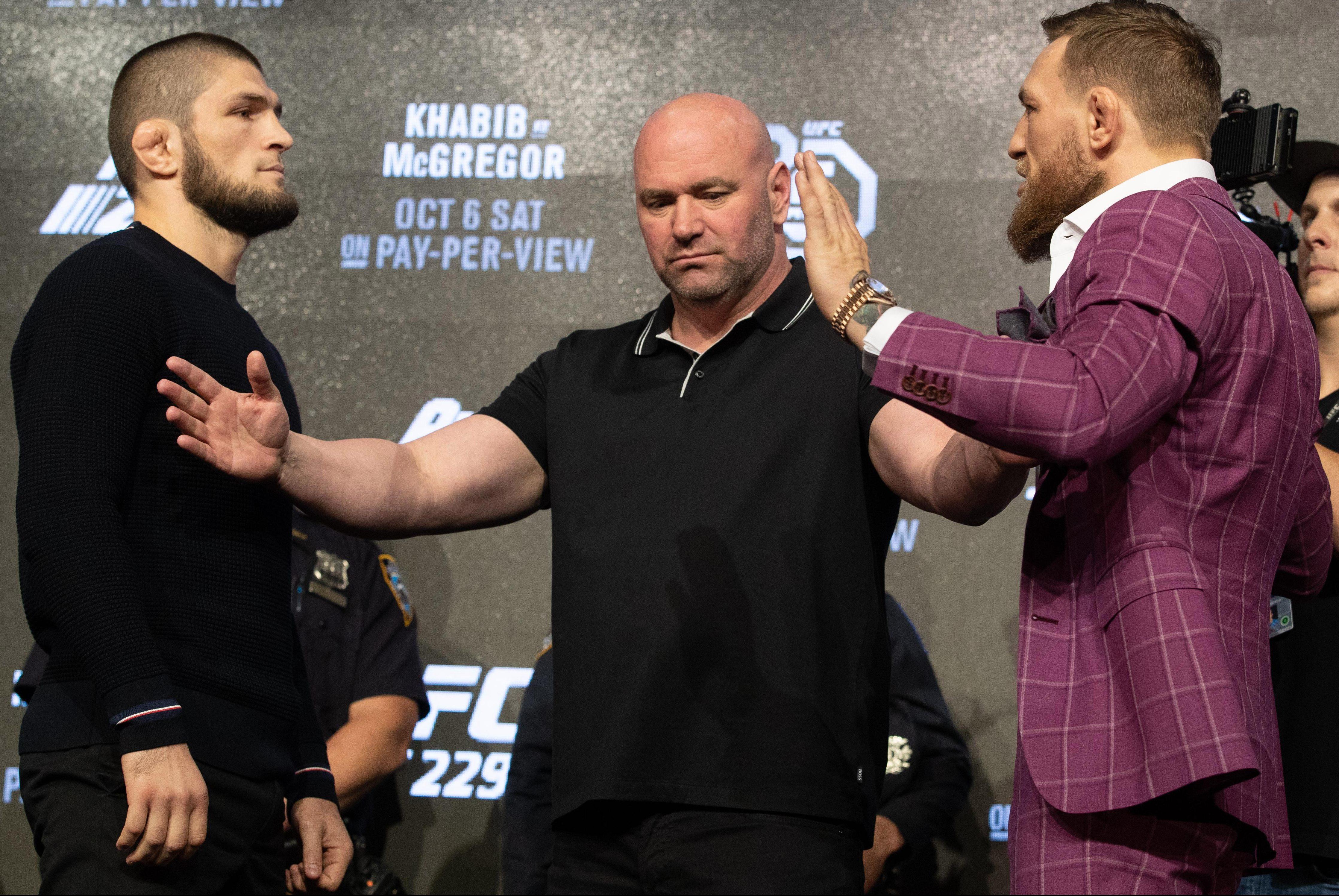 McGregor insists he will 'clatter' and 'crumble' Nurmagomedov
