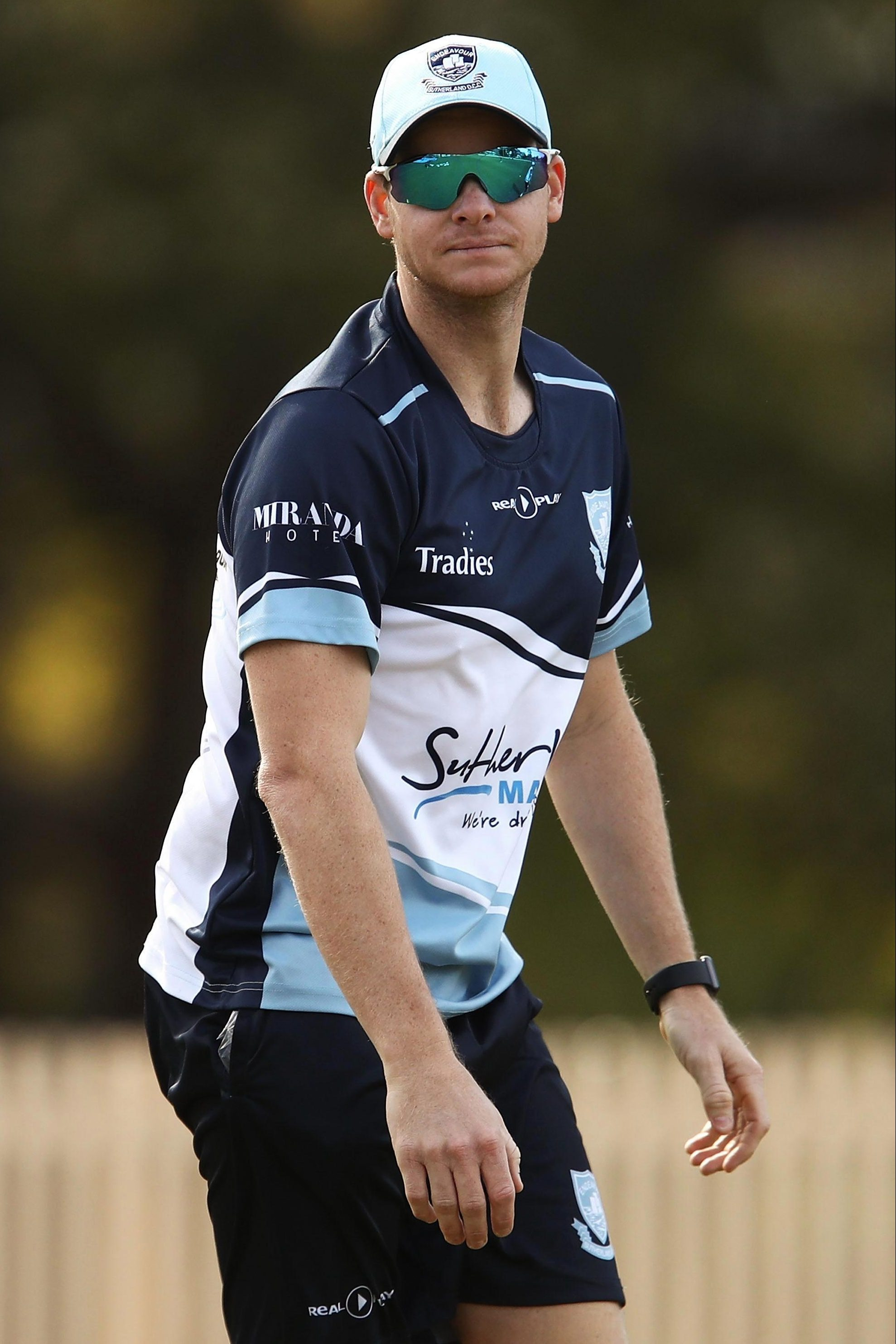 Aussie officials will be keen to monitor Steve Smith's reception