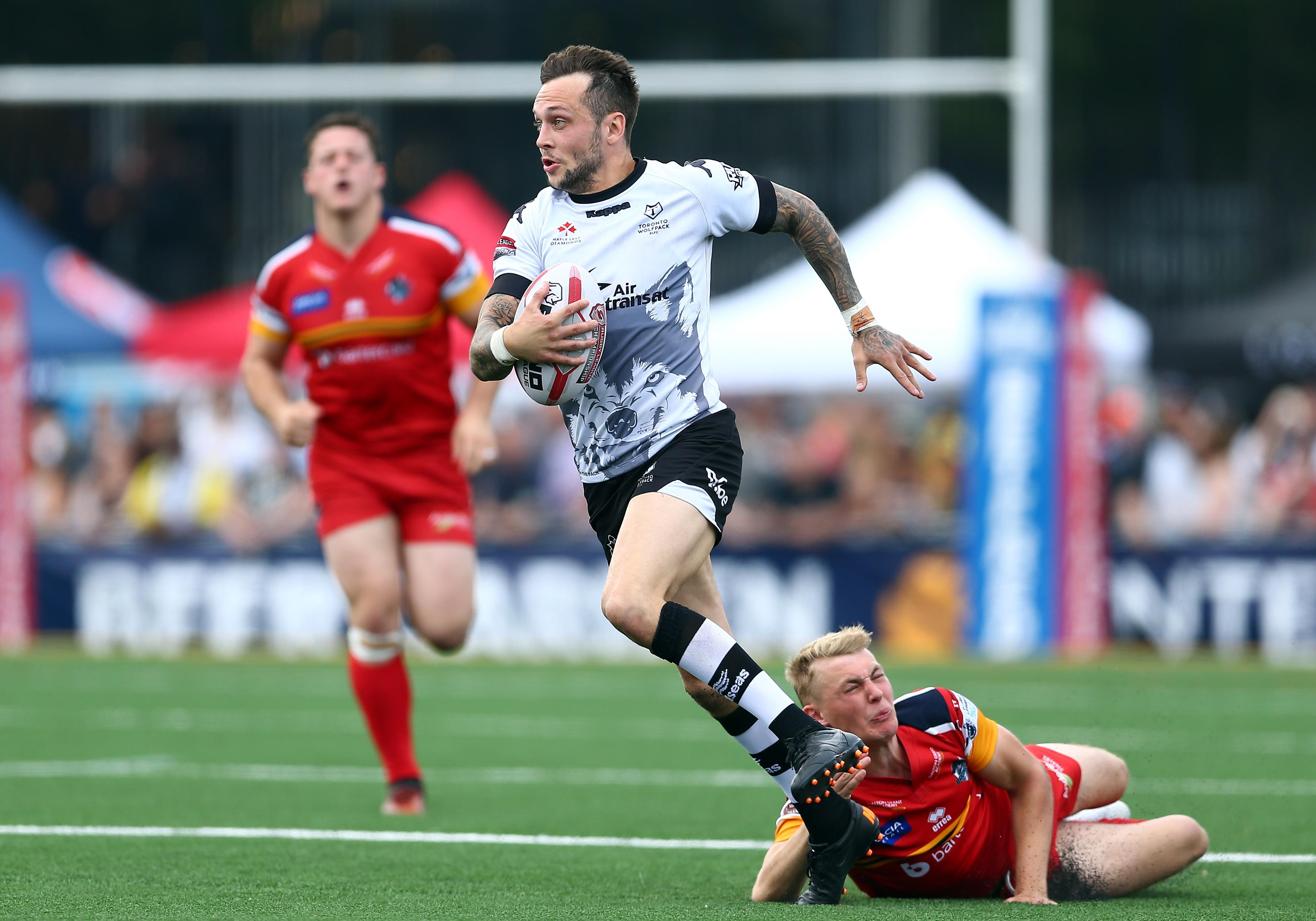 Toronto and London Broncos face off for a place in the top flight