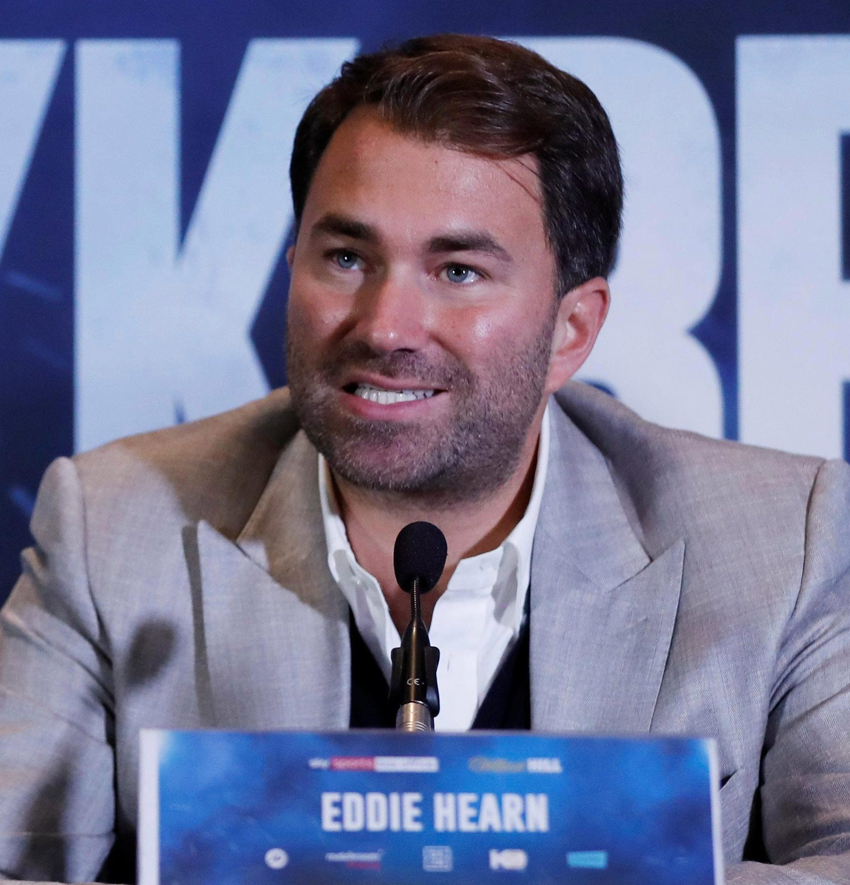 Both fighters are represented by Eddie Hearn who will act as a mediator between the two teams